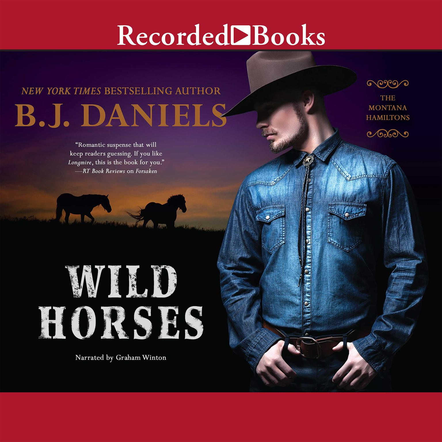 Printable Wild Horses Audiobook Cover Art