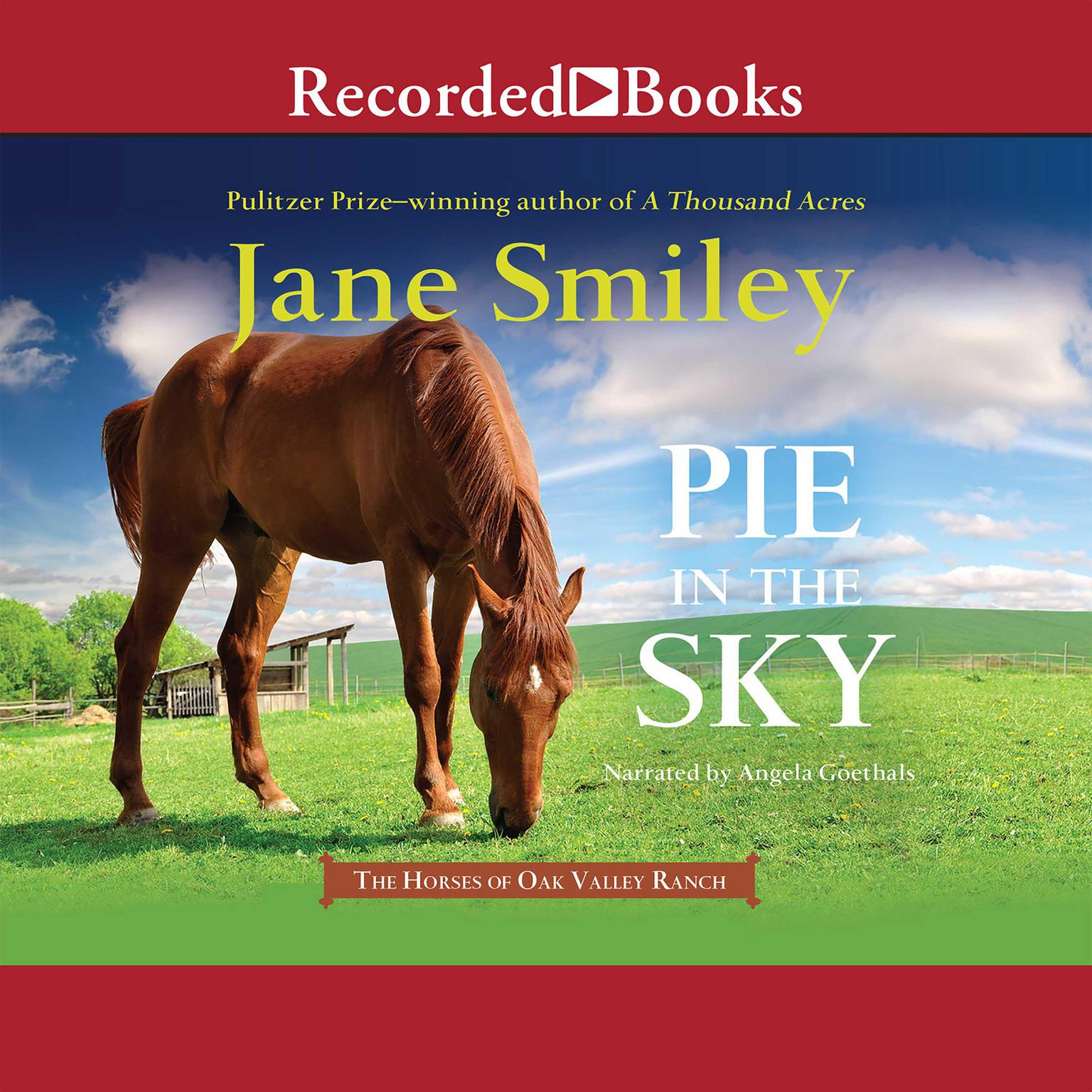 Printable Pie in the Sky Audiobook Cover Art