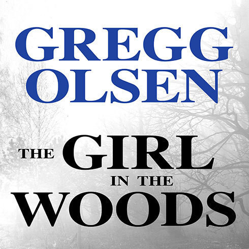 Printable The Girl in the Woods Audiobook Cover Art