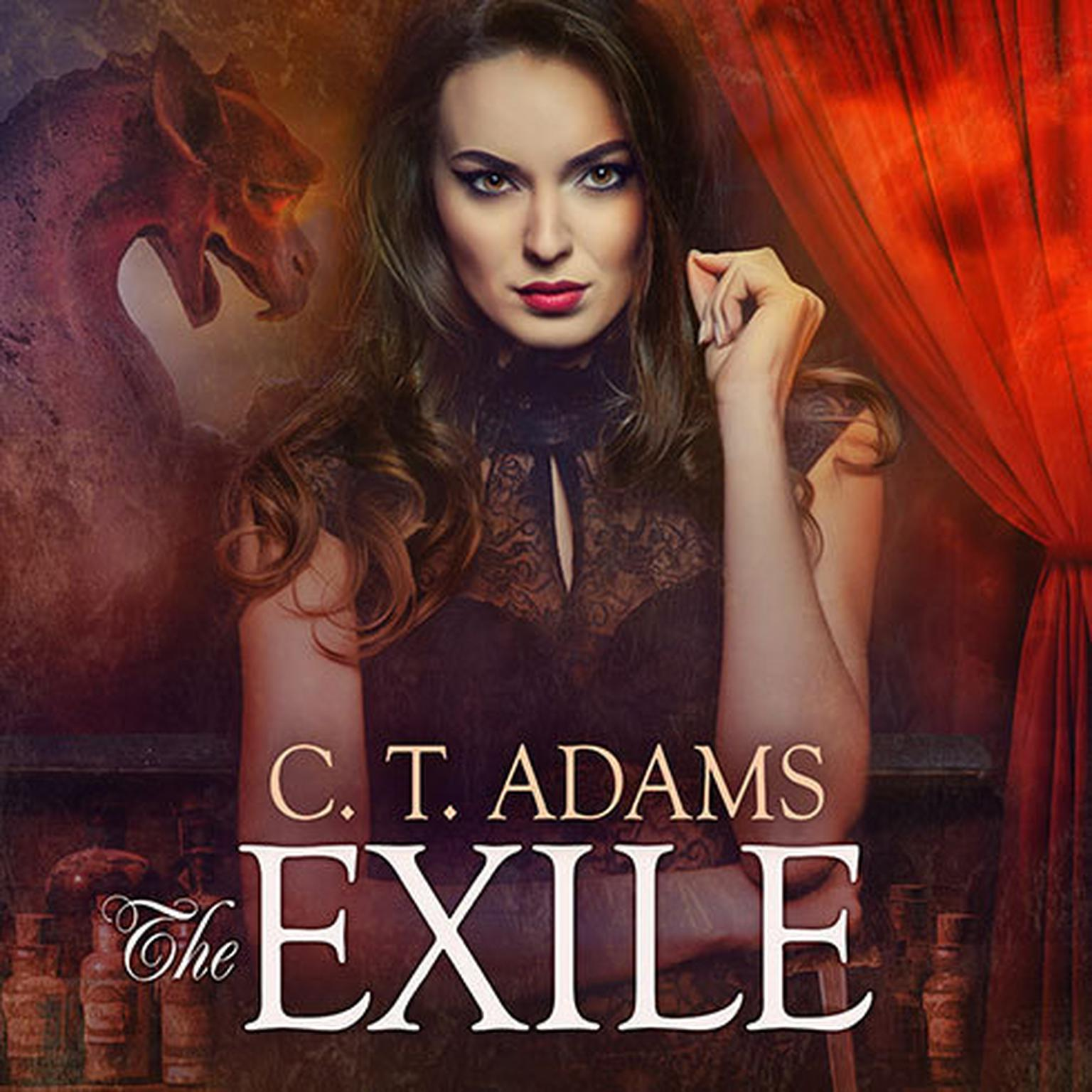 Printable The Exile: Book One of the Fae Audiobook Cover Art