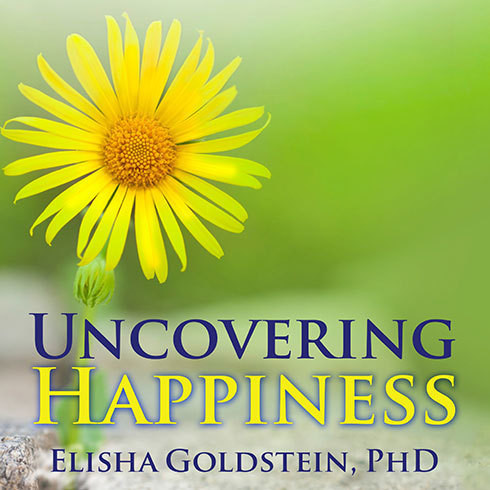 Printable Uncovering Happiness: Overcoming Depression With Mindfulness and Self-compassion Audiobook Cover Art
