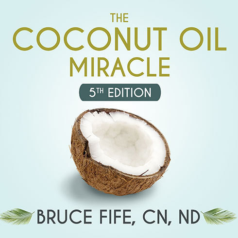 Printable The Coconut Oil Miracle: 5th Edition Audiobook Cover Art