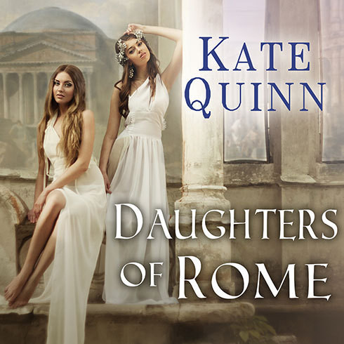 Printable Daughters of Rome Audiobook Cover Art