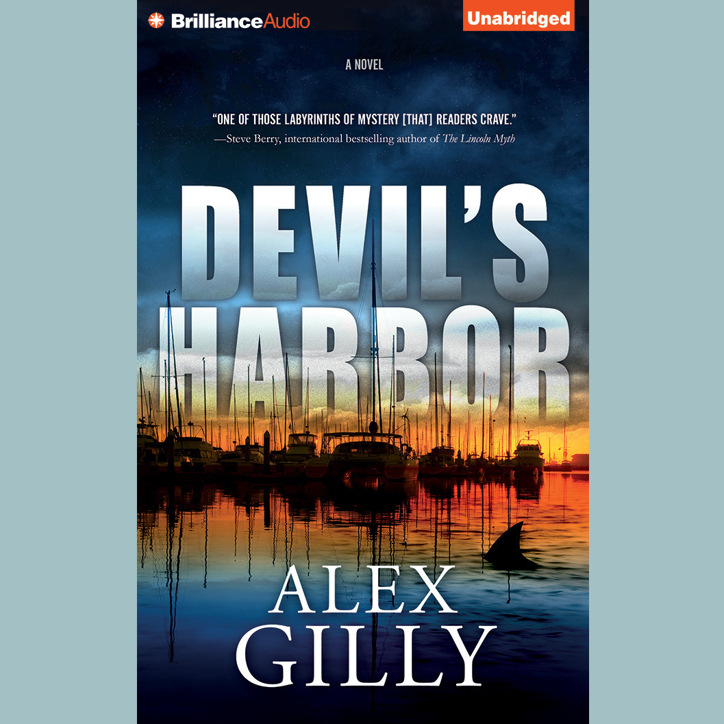 Printable Devil's Harbor: A Novel Audiobook Cover Art