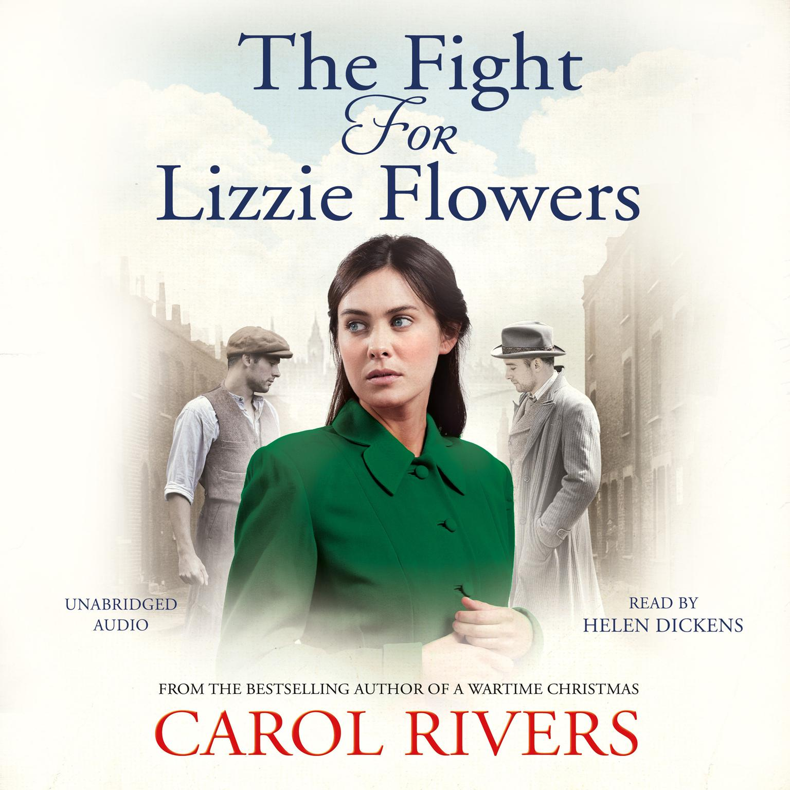Printable The Fight for Lizzie Flowers Audiobook Cover Art
