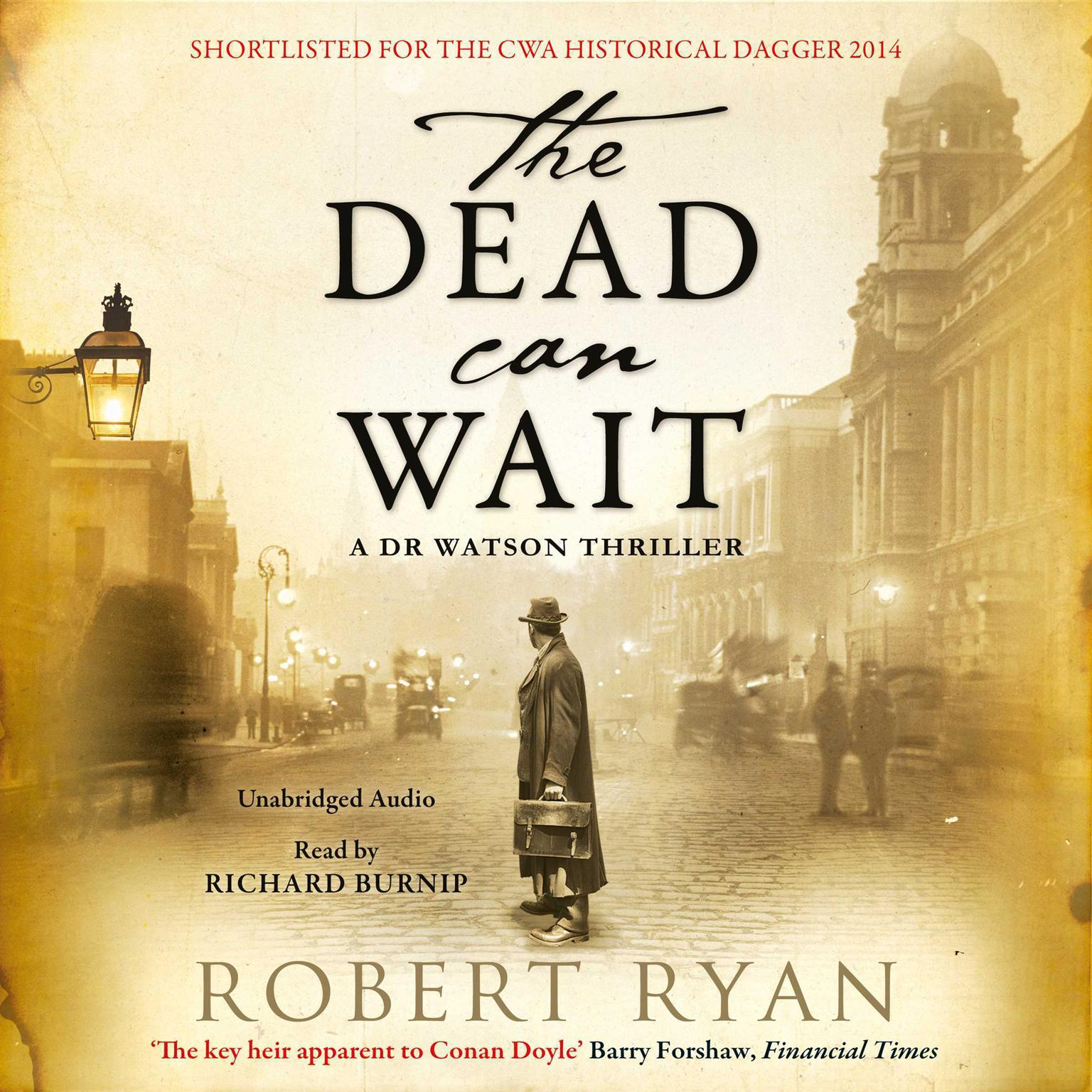 Printable The Dead Can Wait Audiobook Cover Art