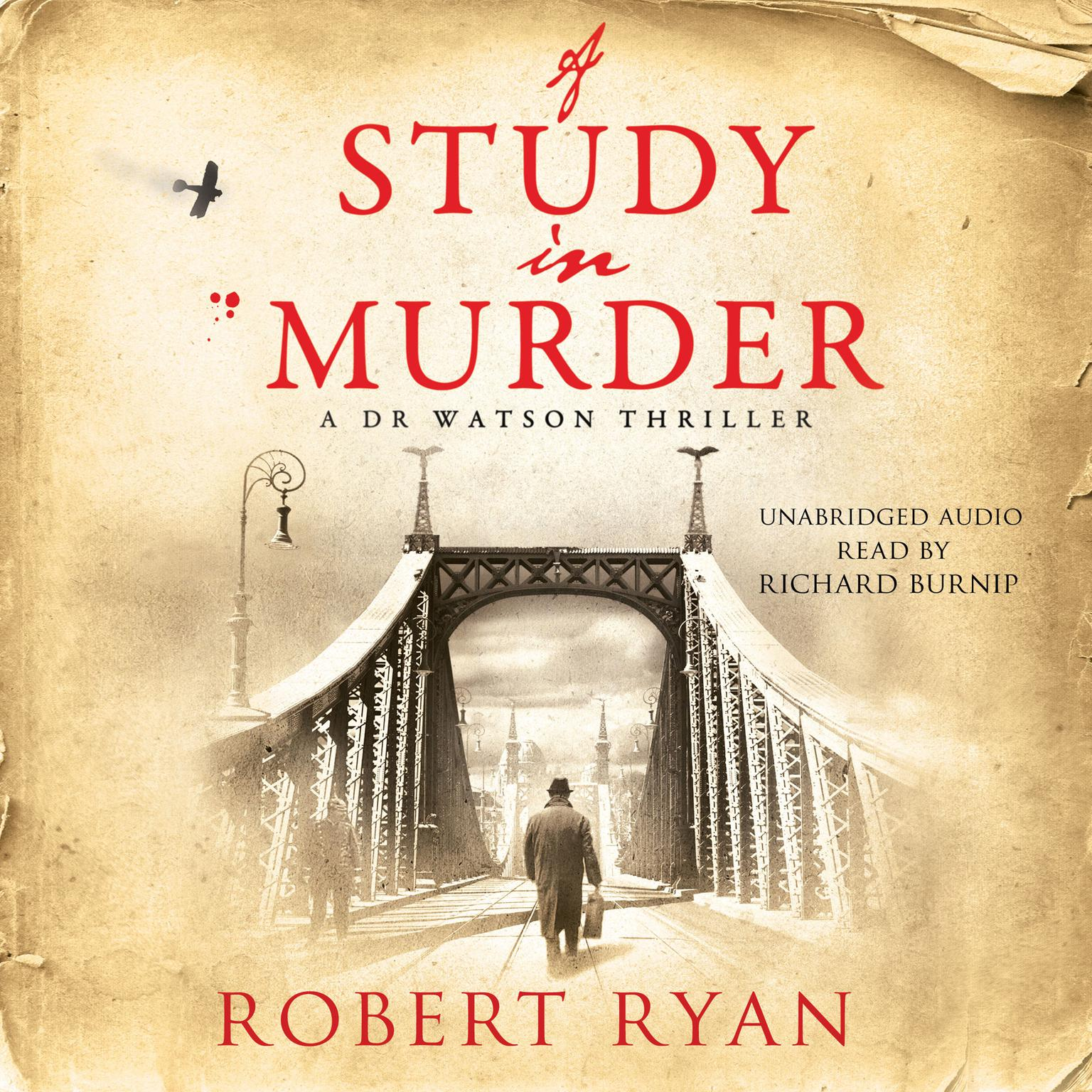 Printable A Study in Murder Audiobook Cover Art
