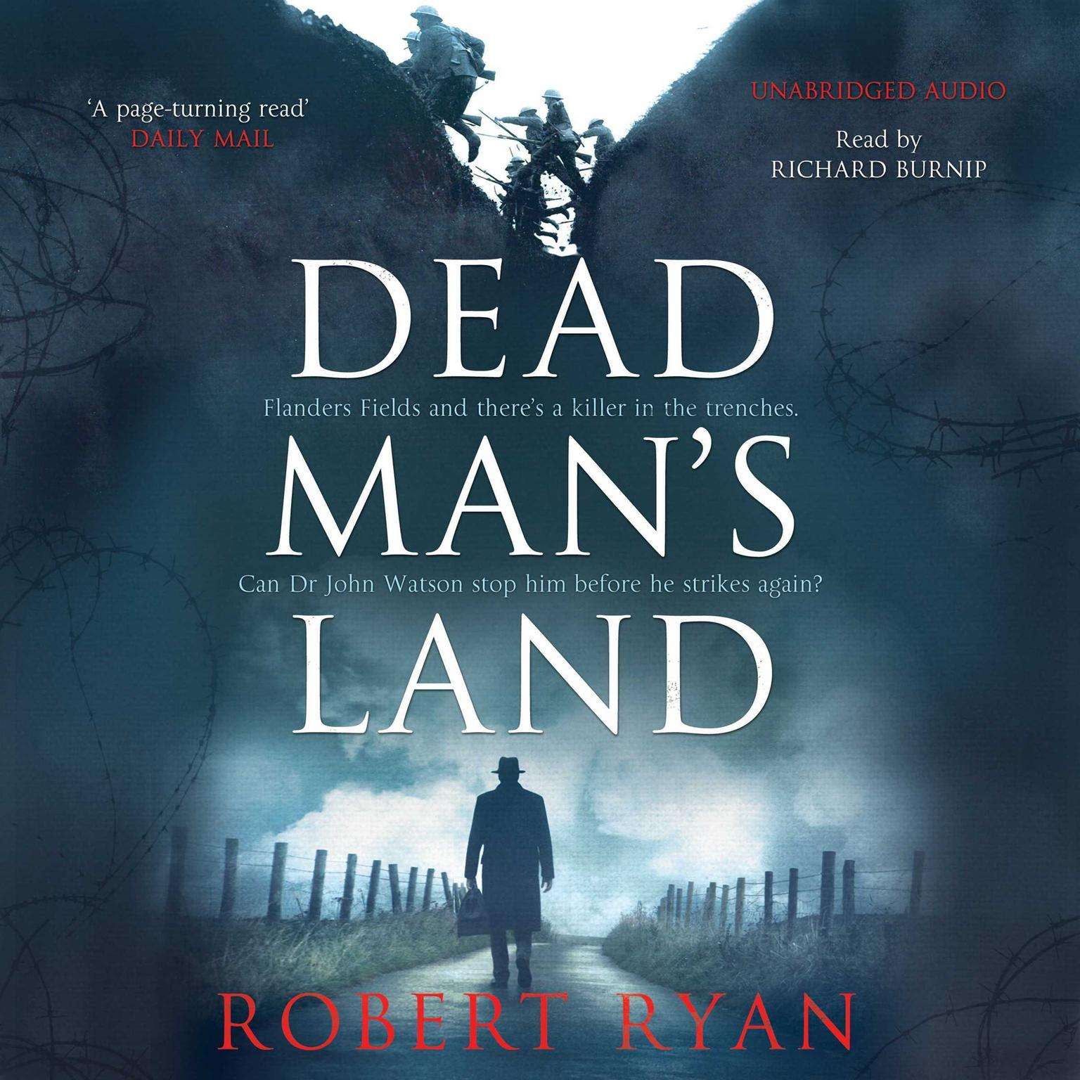 Printable Dead Man's Land Audiobook Cover Art