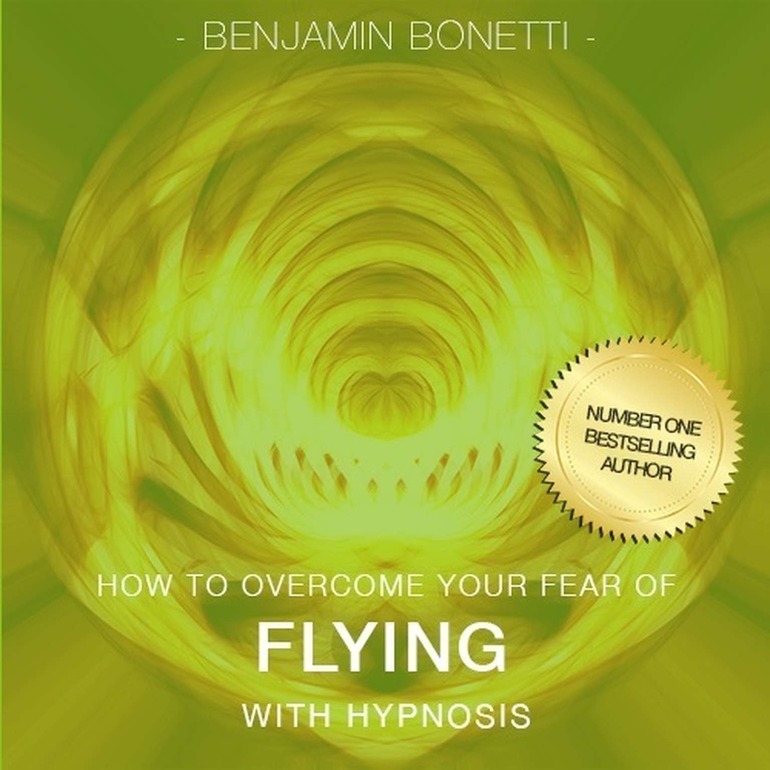 Printable How to Overcome Your Fear of Flying with Hypnosis Audiobook Cover Art