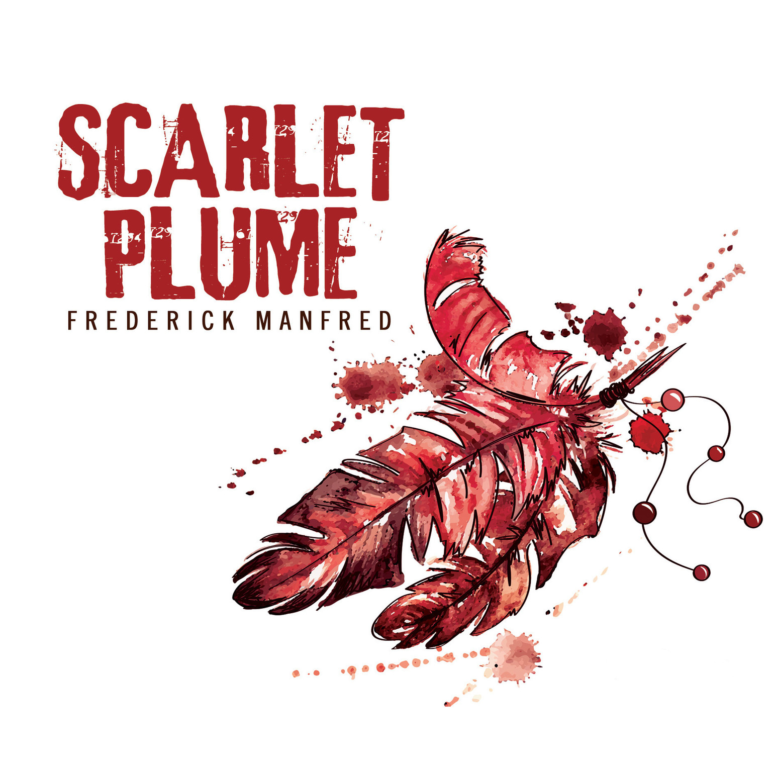 Printable Scarlet Plume Audiobook Cover Art