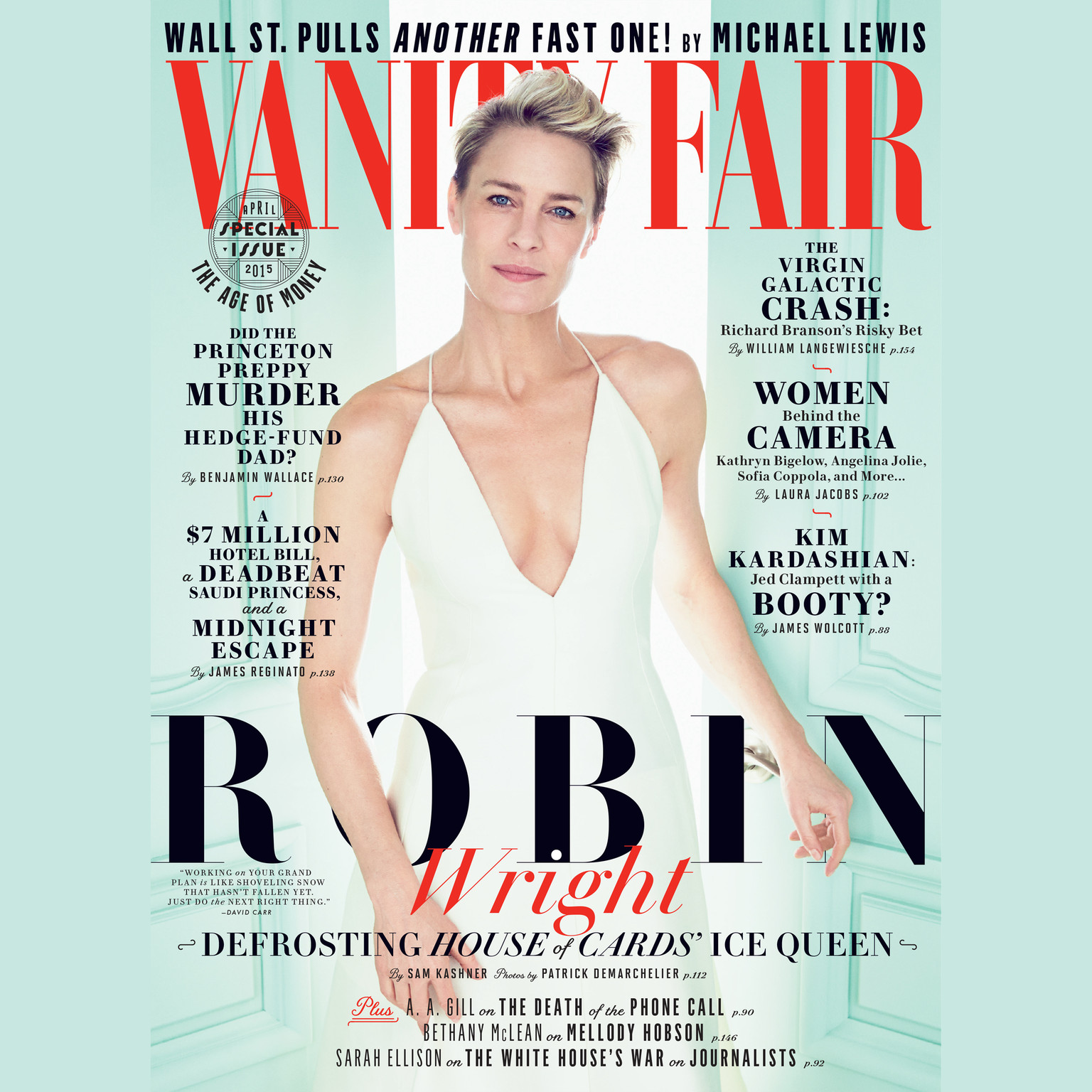 Printable Vanity Fair: April 2015 Issue Audiobook Cover Art