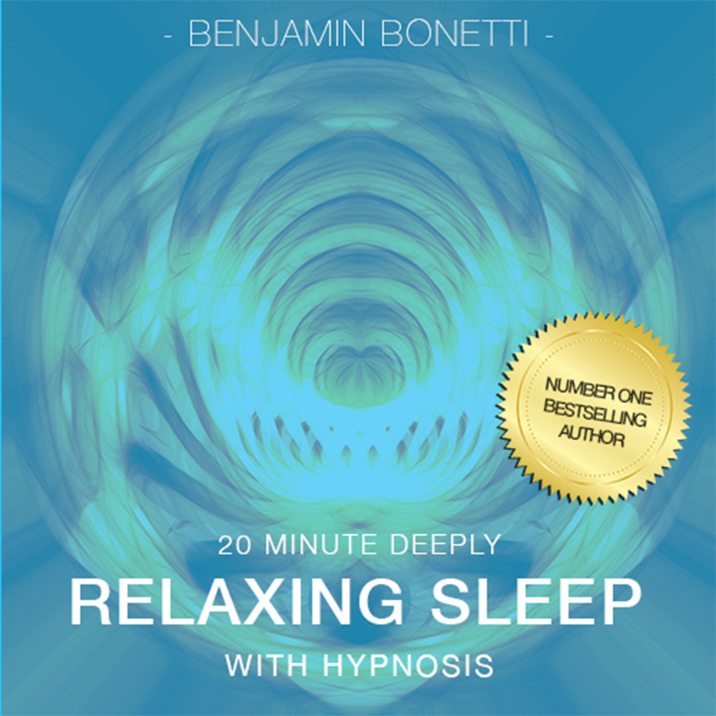 Printable 20 Minute Deeply Relaxing Sleep with Hypnosis Audiobook Cover Art