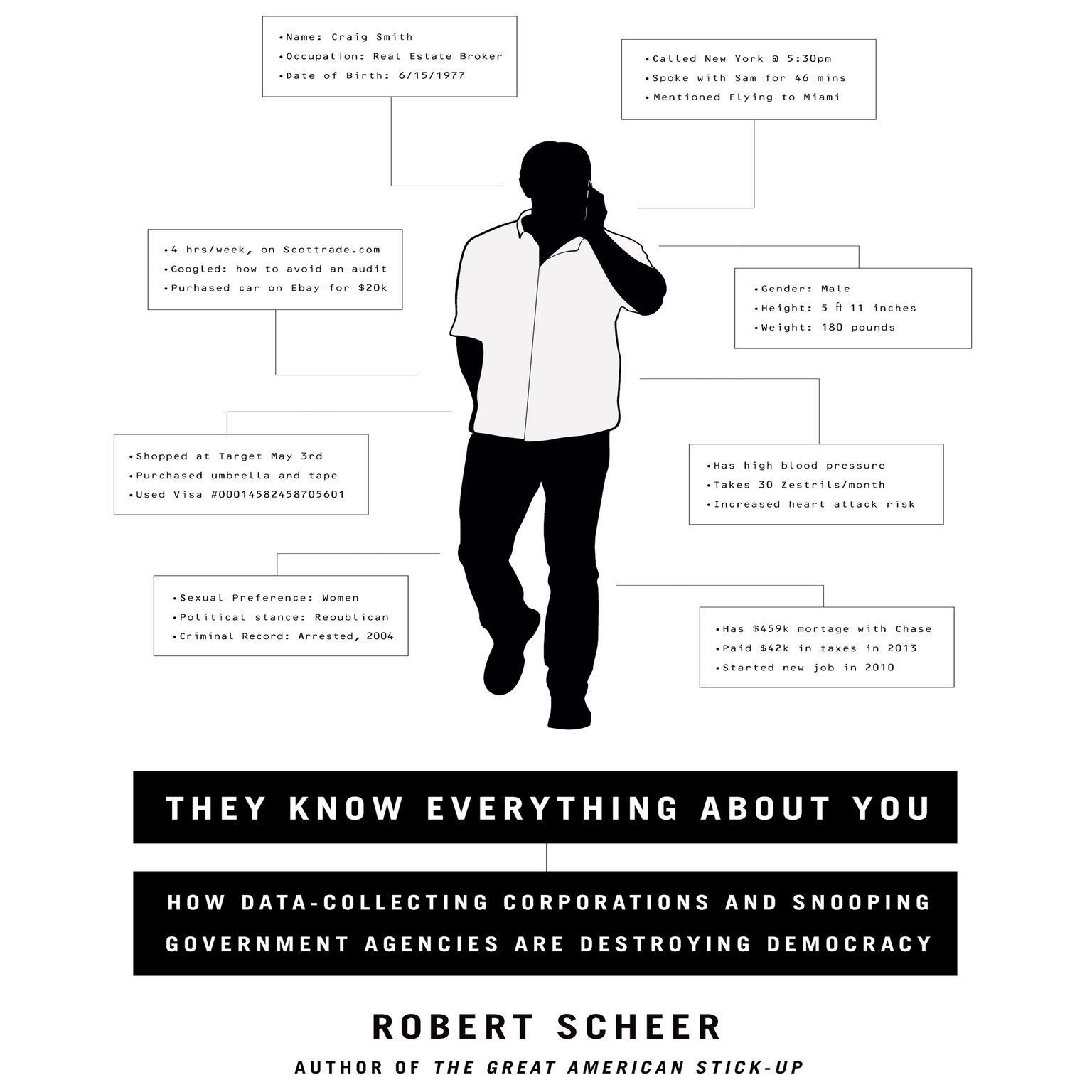 Printable They Know Everything about You: How Data-Collecting Corporations and Snooping Government Agencies Are Destroying Democracy Audiobook Cover Art
