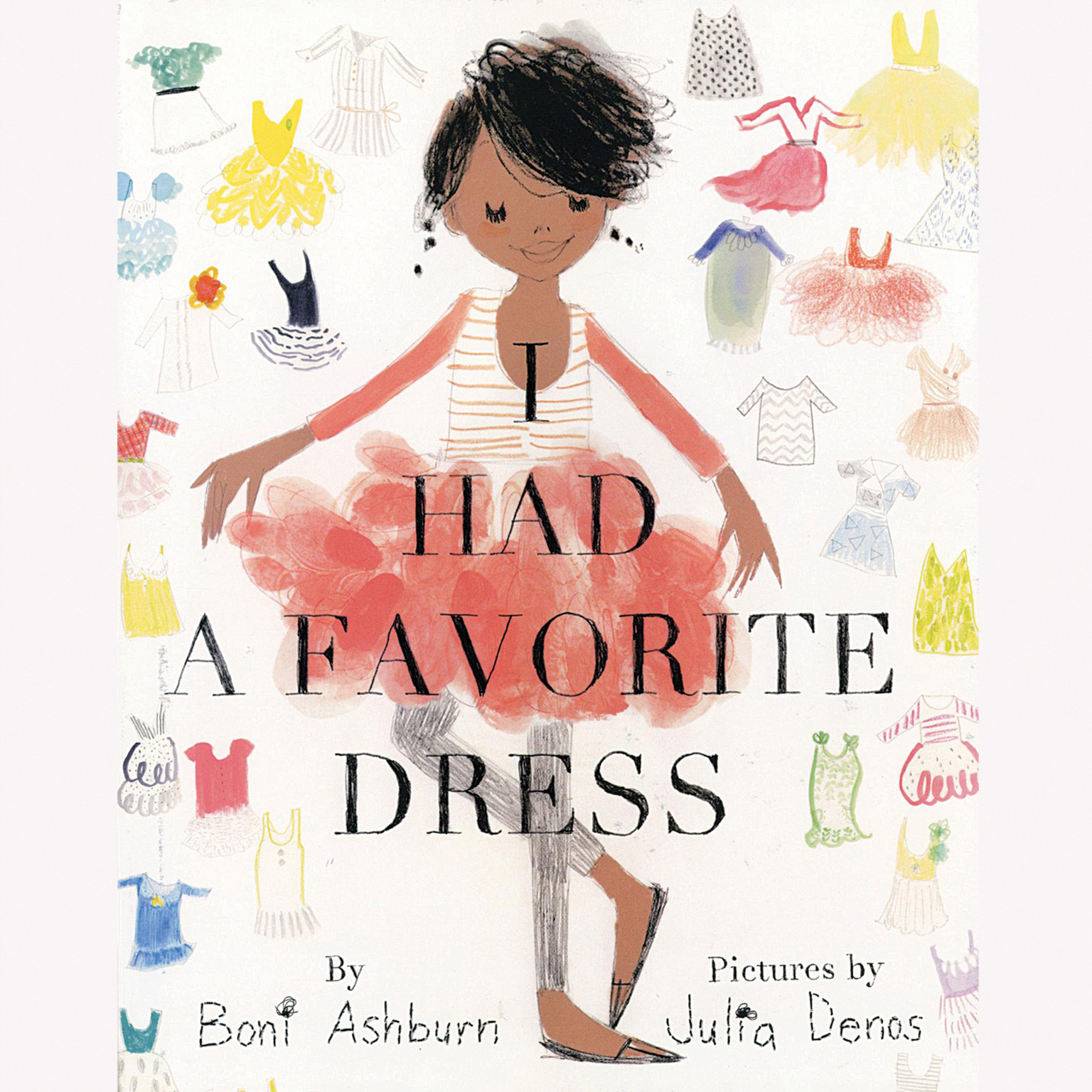 Printable I Had a Favorite Dress Audiobook Cover Art