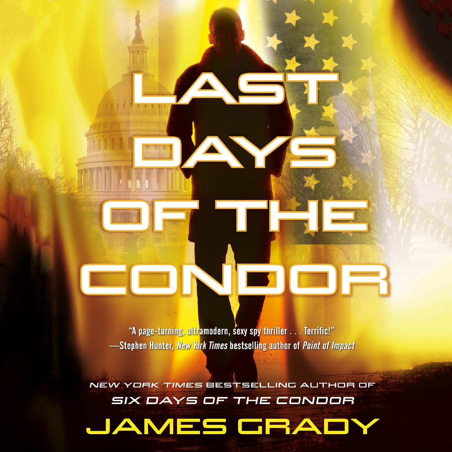 Printable Last Days of the Condor: A Novel Audiobook Cover Art