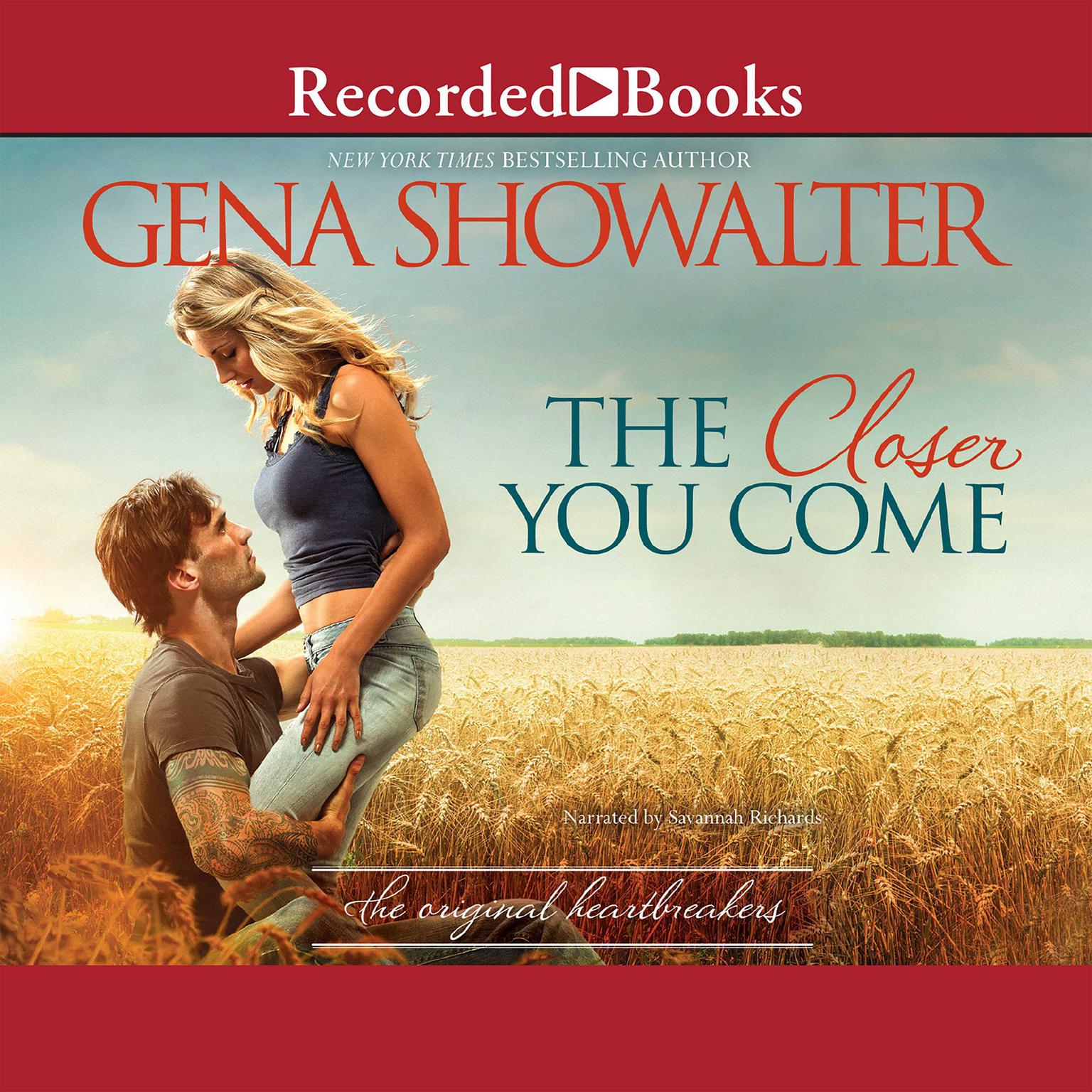 Printable The Closer You Come Audiobook Cover Art