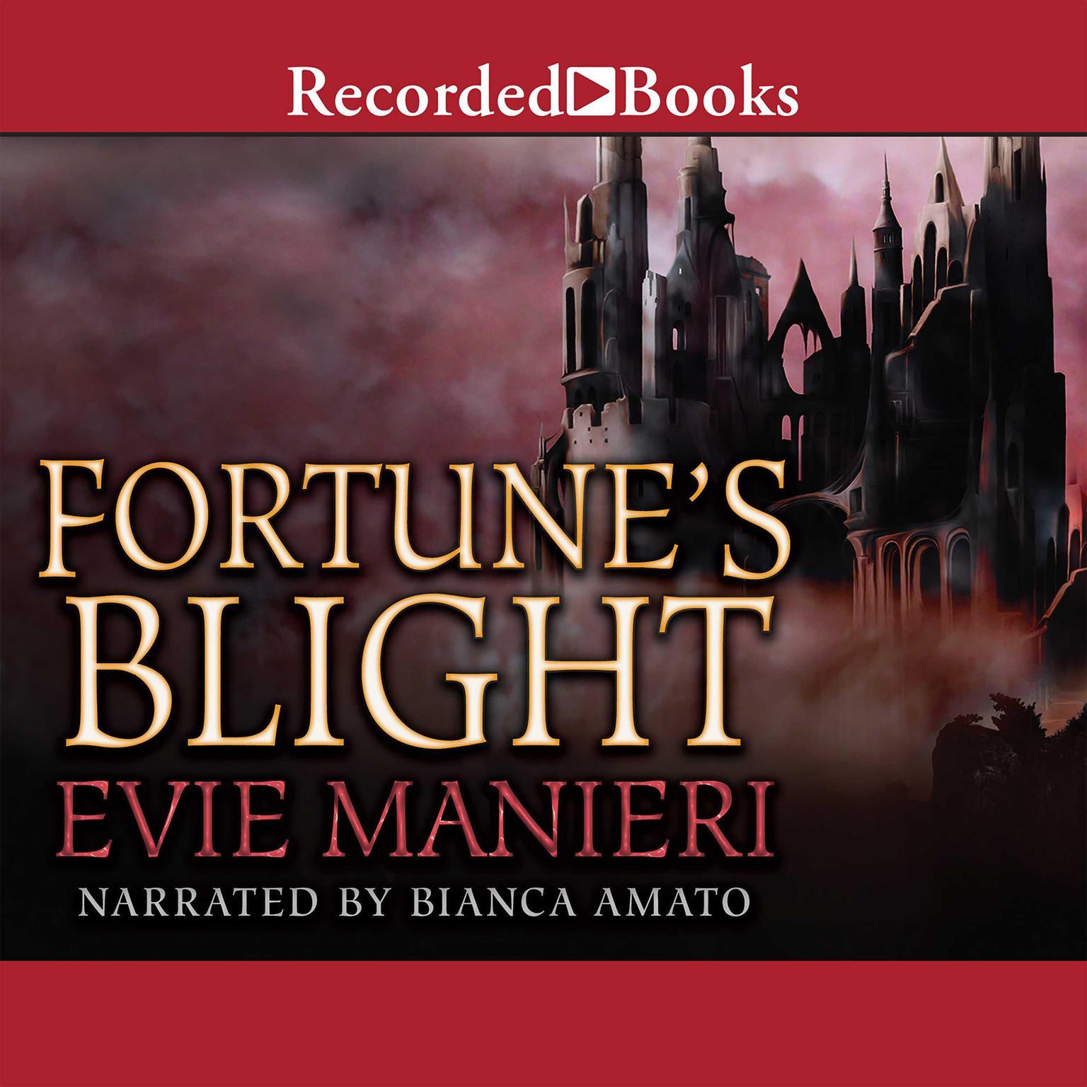 Printable Fortune's Blight Audiobook Cover Art
