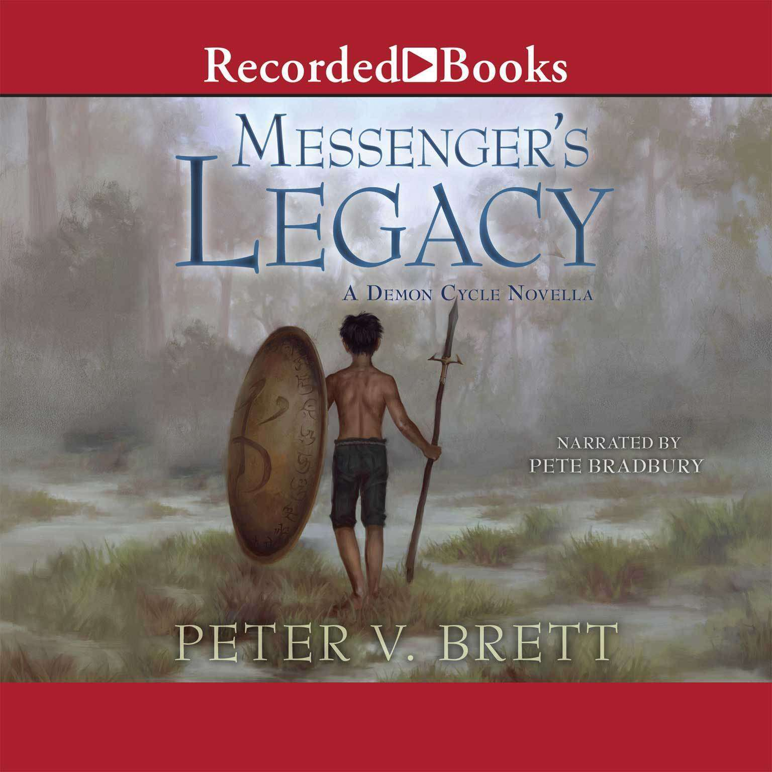 Printable Messenger's Legacy Audiobook Cover Art