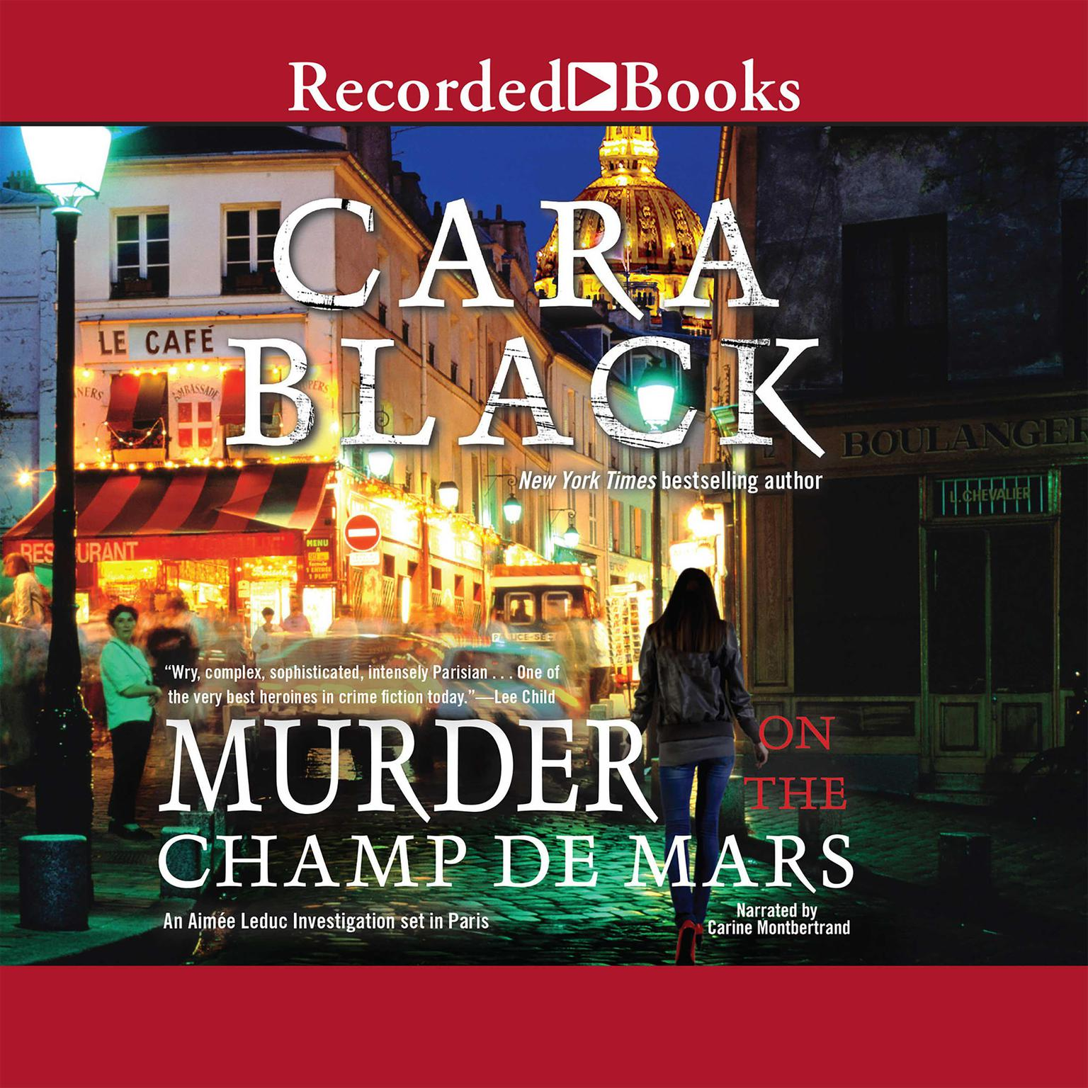 Printable Murder on the Champ de Mars Audiobook Cover Art