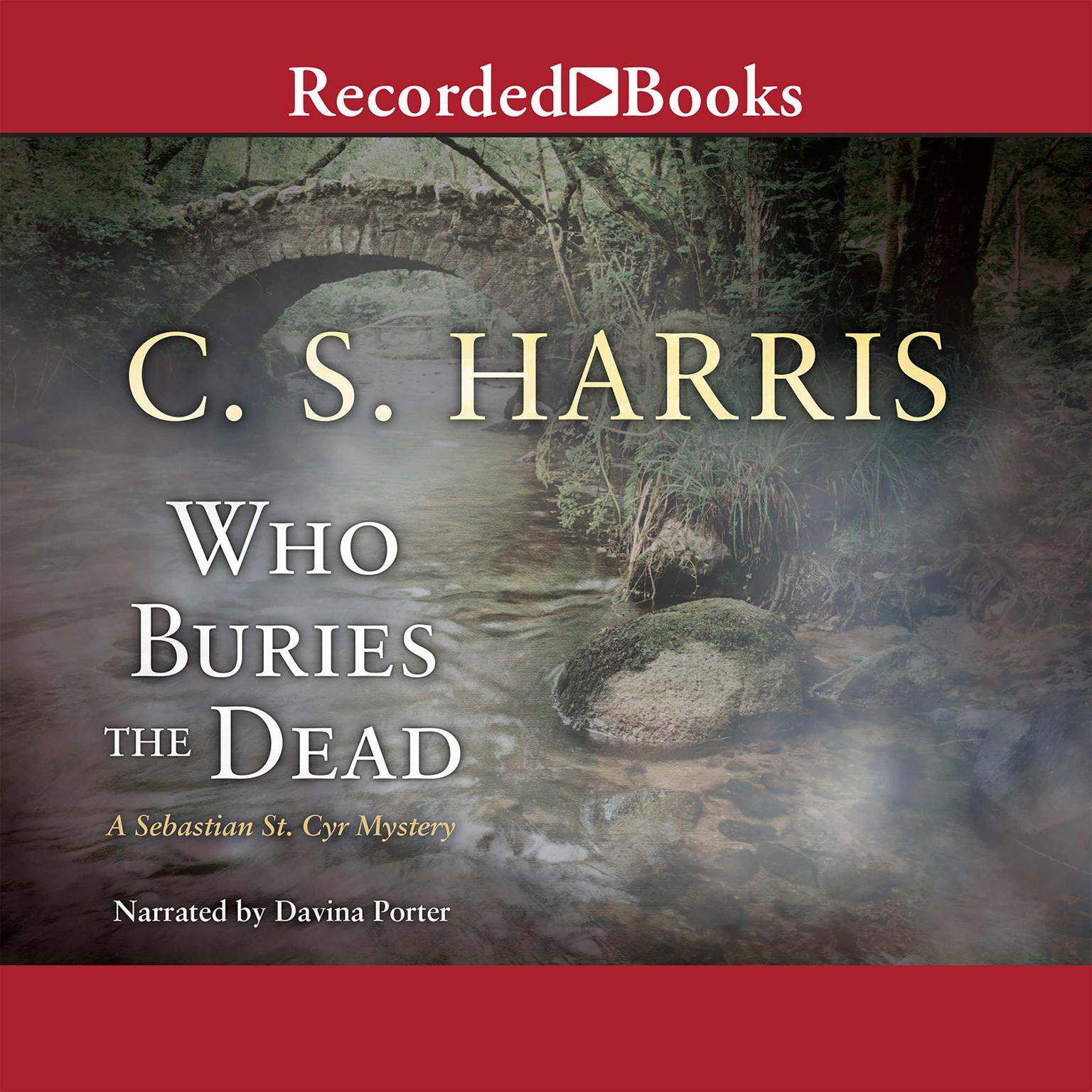 Printable Who Buries the Dead Audiobook Cover Art