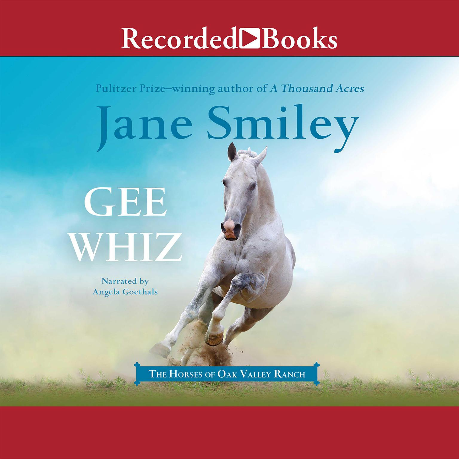 Printable Gee Whiz Audiobook Cover Art