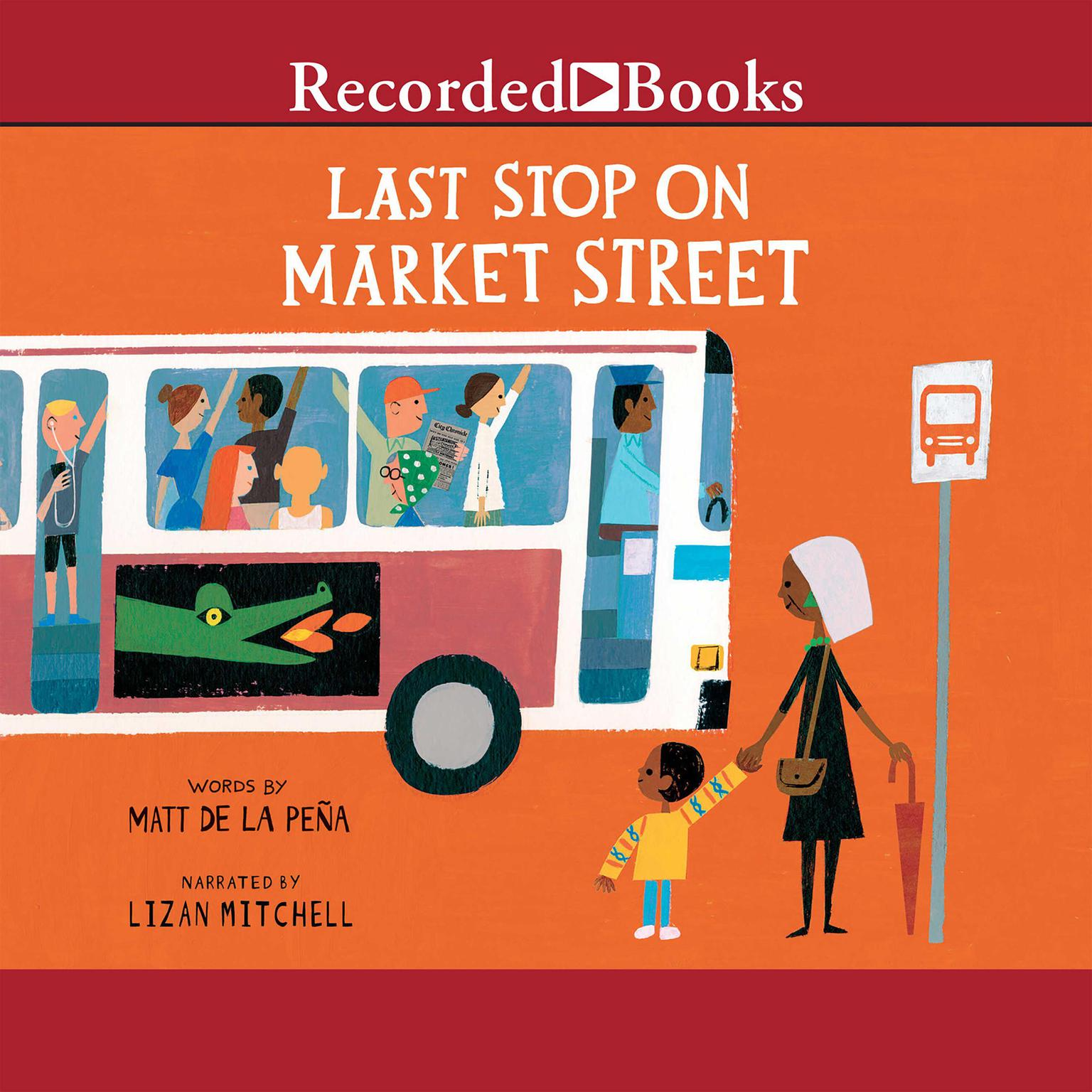 Printable Last Stop on Market Street Audiobook Cover Art