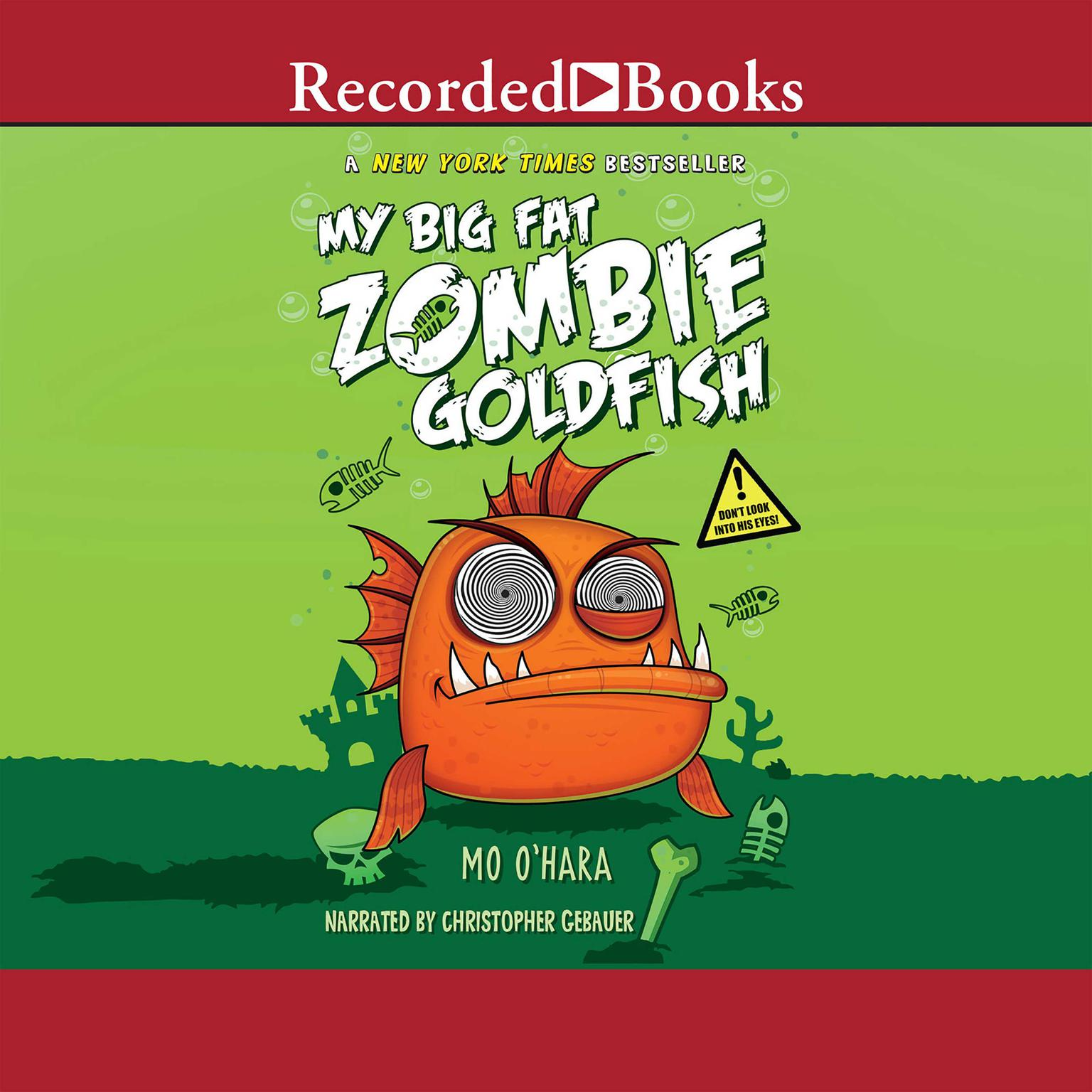 Printable My Big Fat Zombie Goldfish Audiobook Cover Art