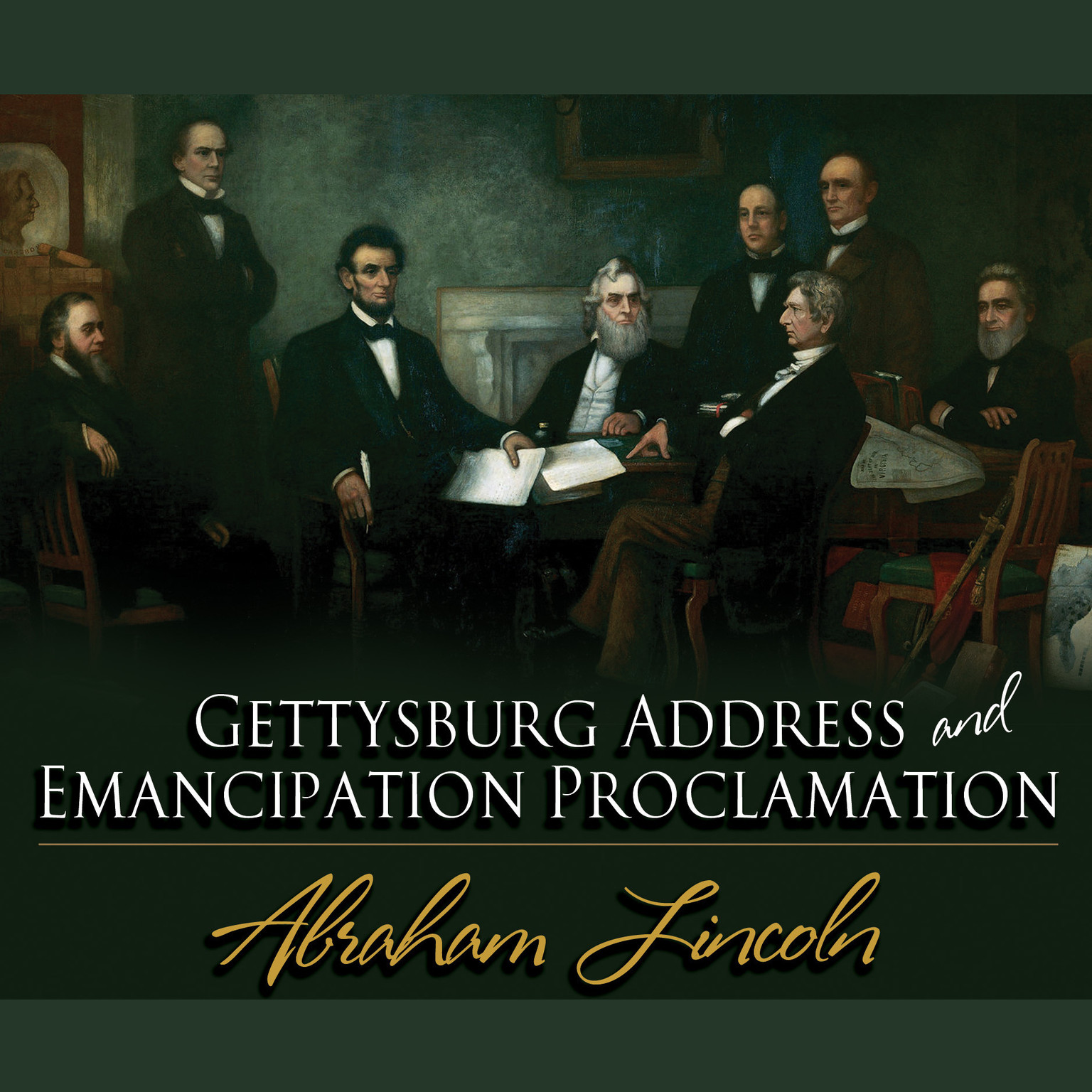 Printable Gettysburg Address & Emancipation Proclamation Audiobook Cover Art