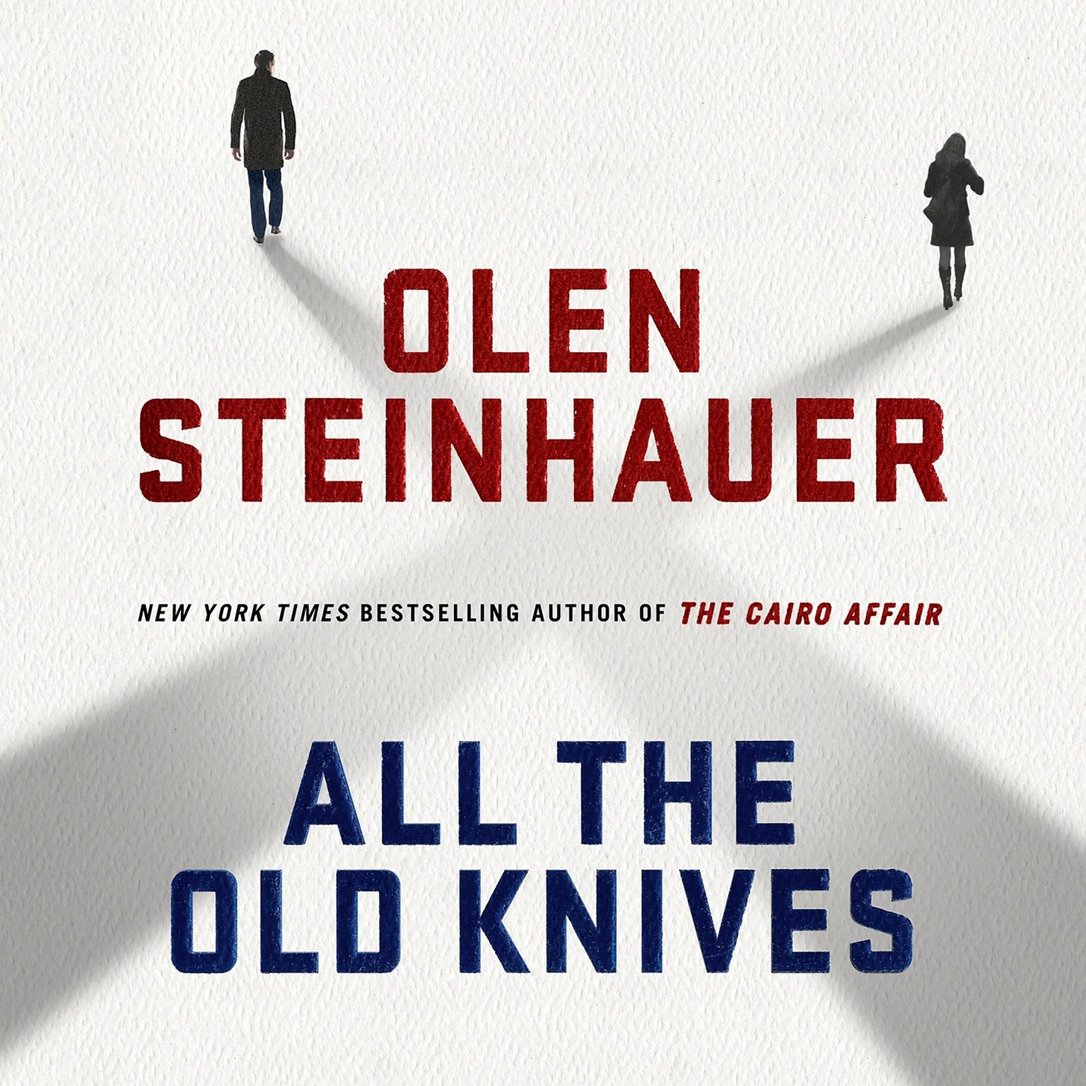 Printable All the Old Knives: A Novel Audiobook Cover Art