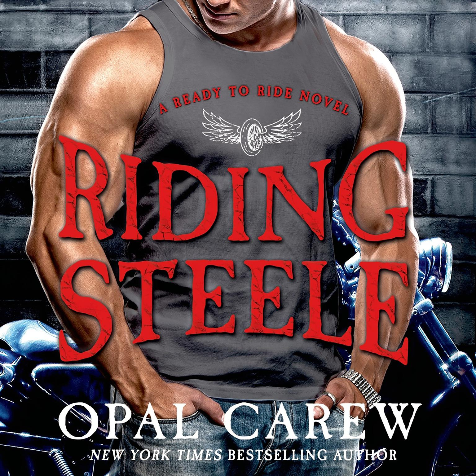 Printable Riding Steele Audiobook Cover Art