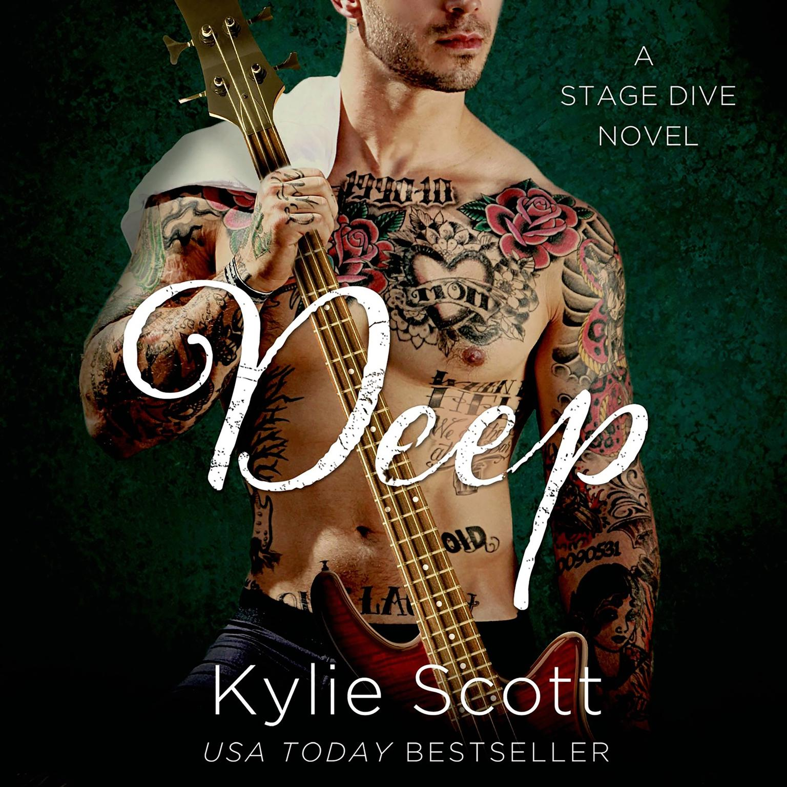 Printable Deep: A Stage Dive Novel Audiobook Cover Art
