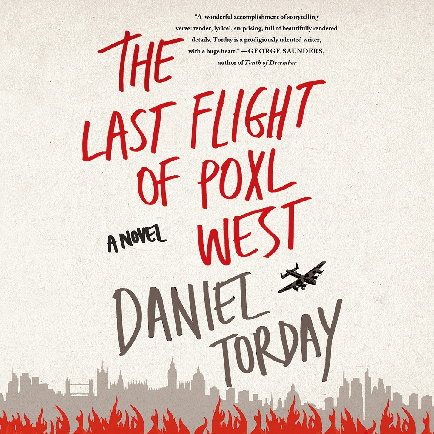 Printable The Last Flight of Poxl West: A Novel Audiobook Cover Art