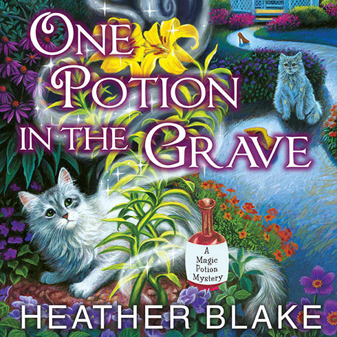 Printable One Potion in the Grave Audiobook Cover Art