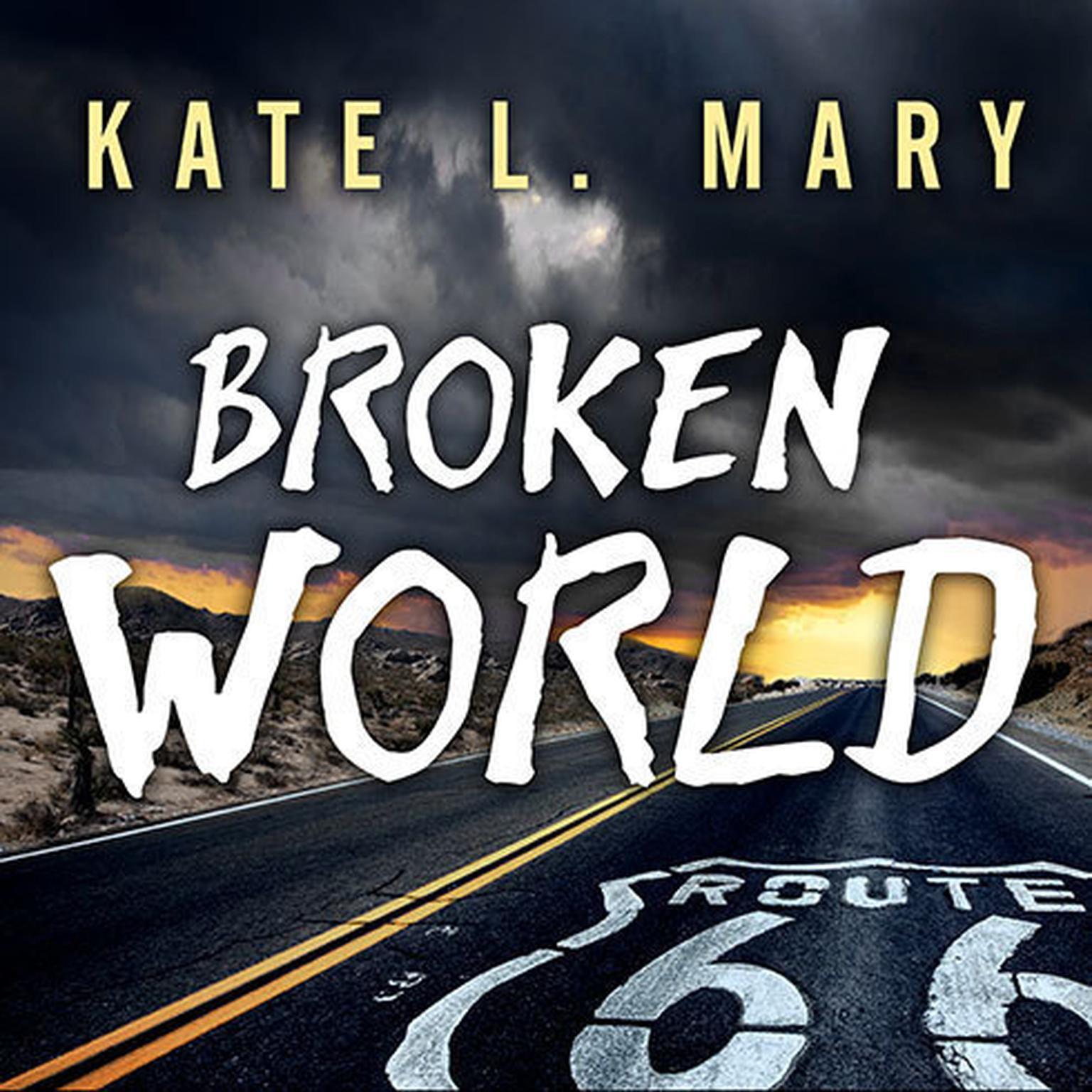Printable Broken World Audiobook Cover Art