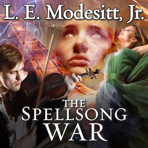 Printable The Spellsong War: The Second Book of the Spellsong Cycle Audiobook Cover Art