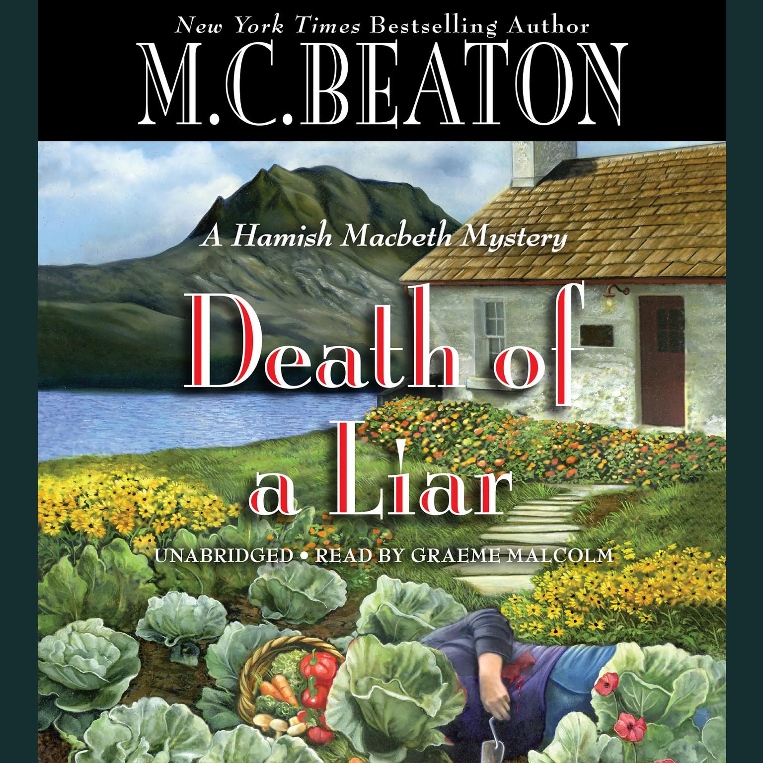 Printable First Chapter Preview: Death of a Liar Audiobook Cover Art