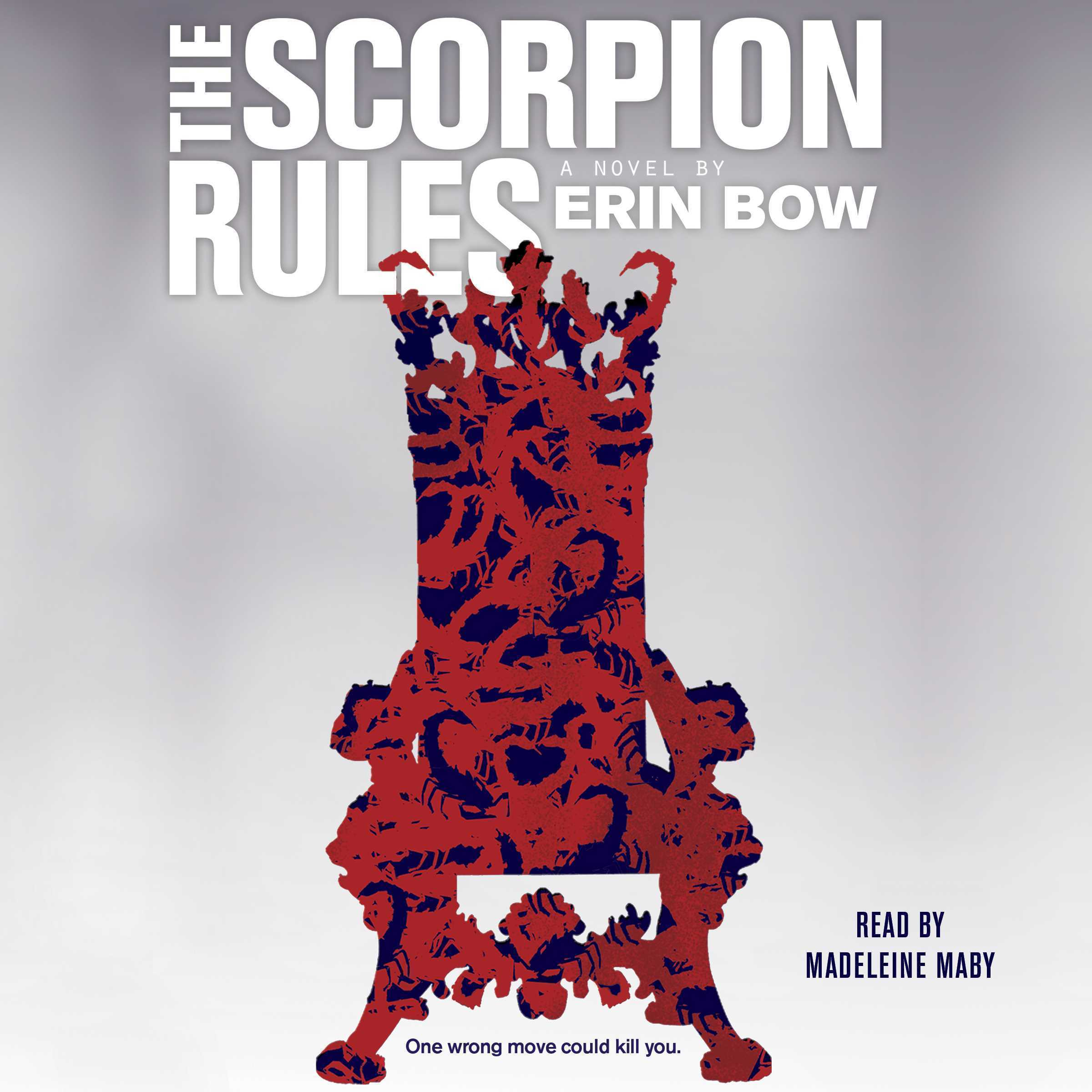 Printable The Scorpion Rules Audiobook Cover Art