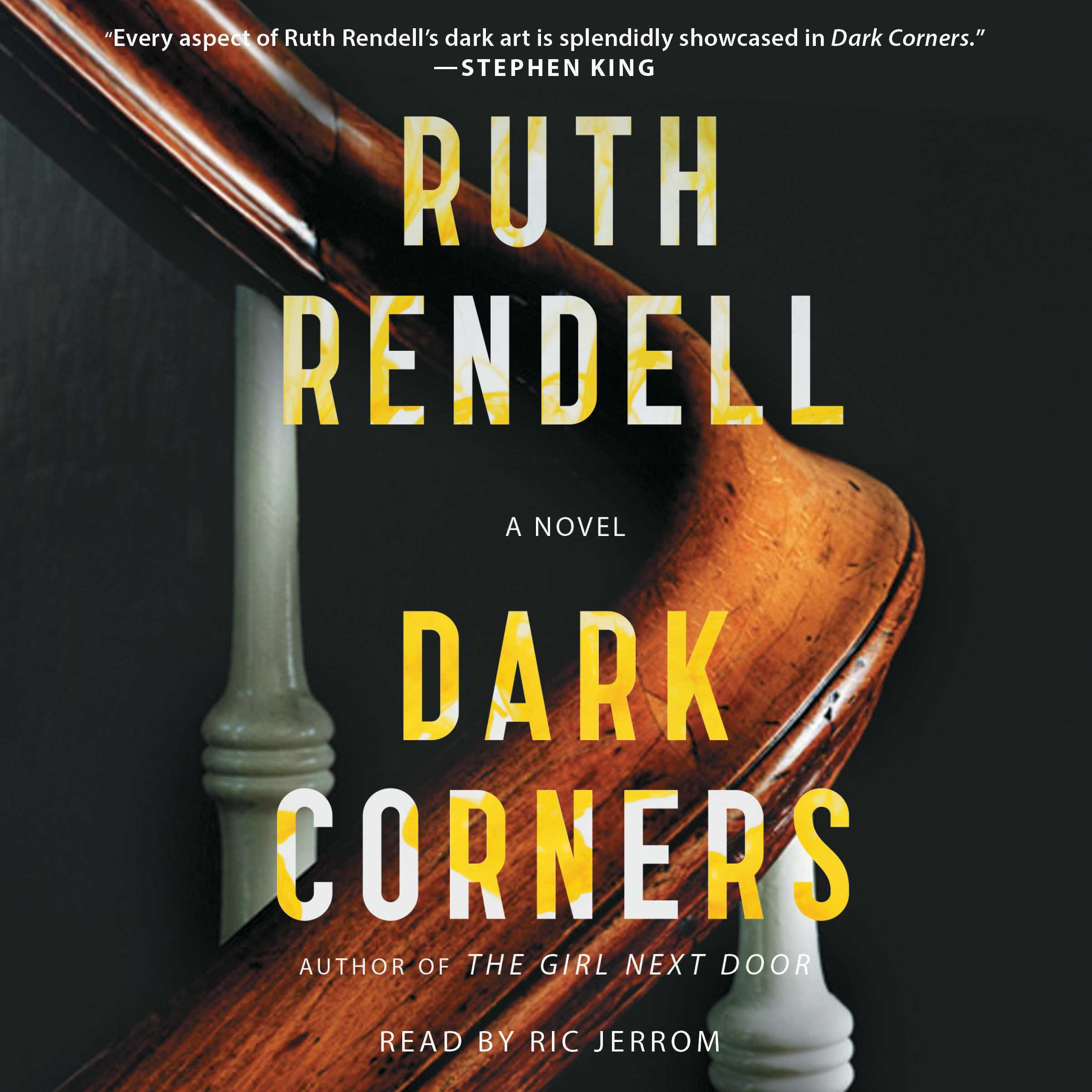 Printable Dark Corners Audiobook Cover Art