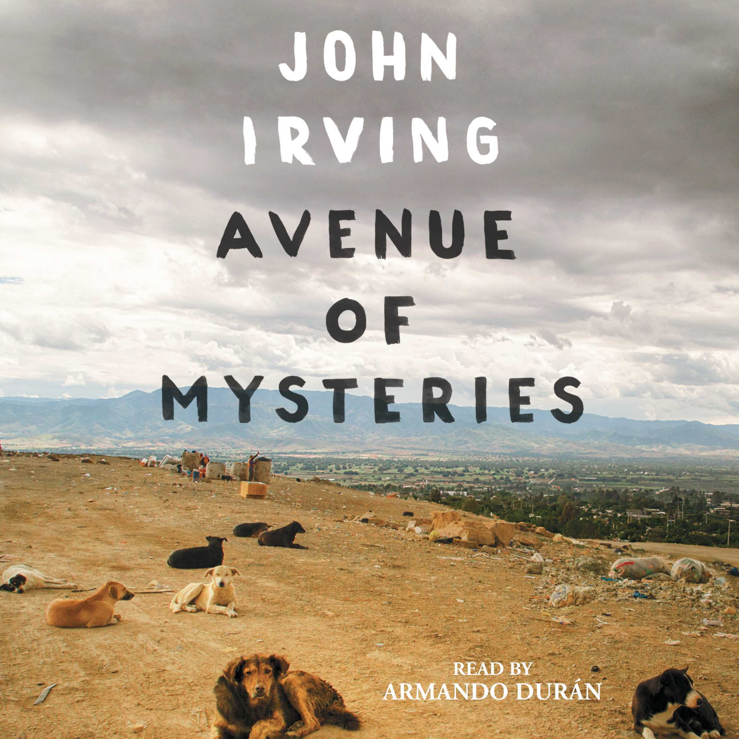 Printable Avenue of Mysteries Audiobook Cover Art