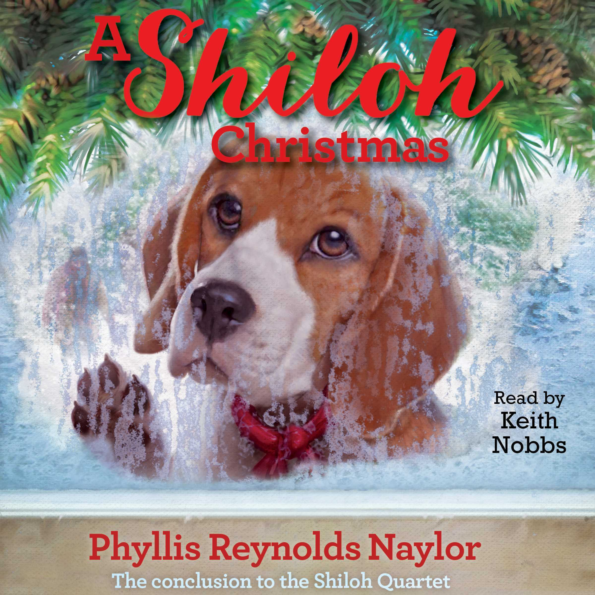Printable A Shiloh Christmas Audiobook Cover Art