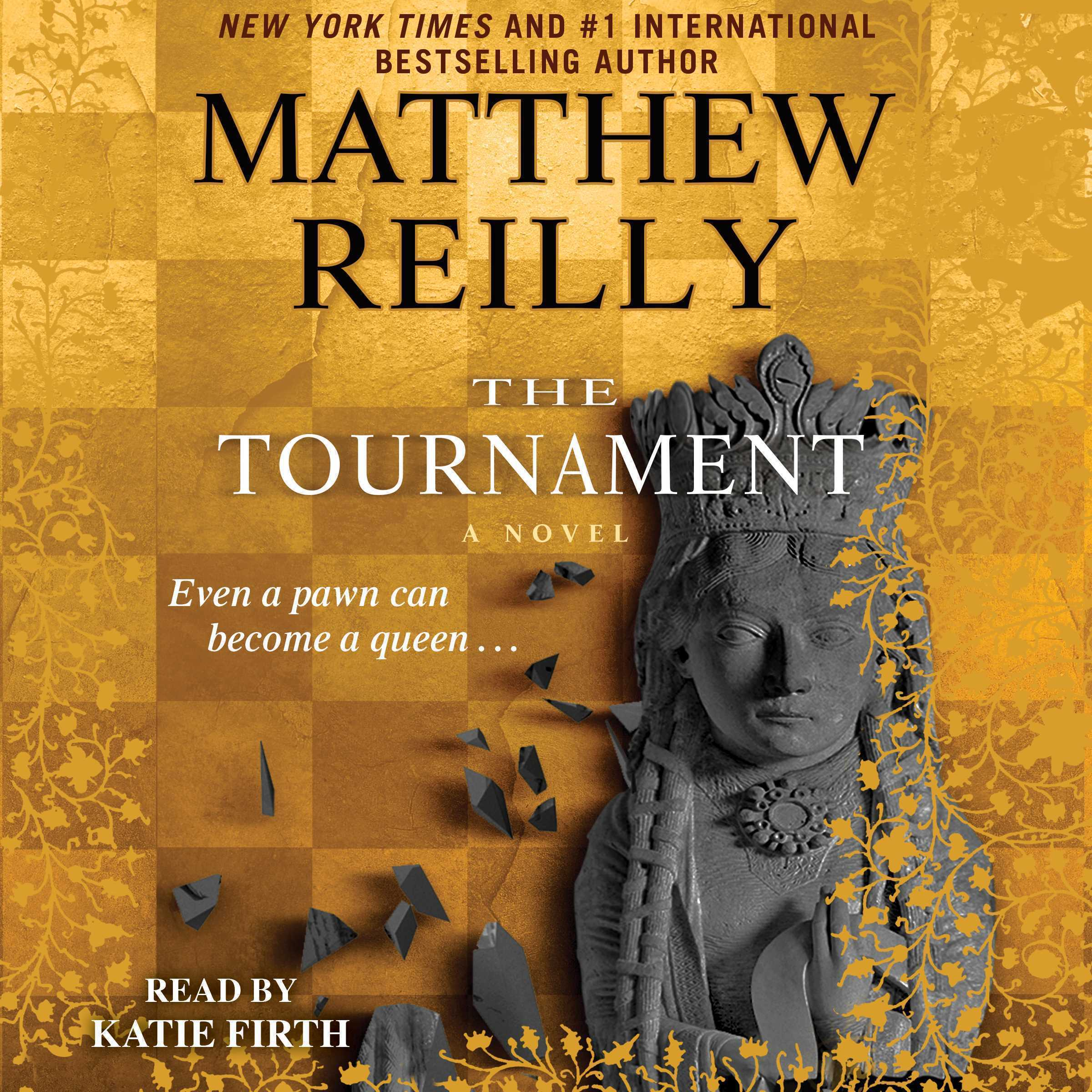 Printable The Tournament Audiobook Cover Art