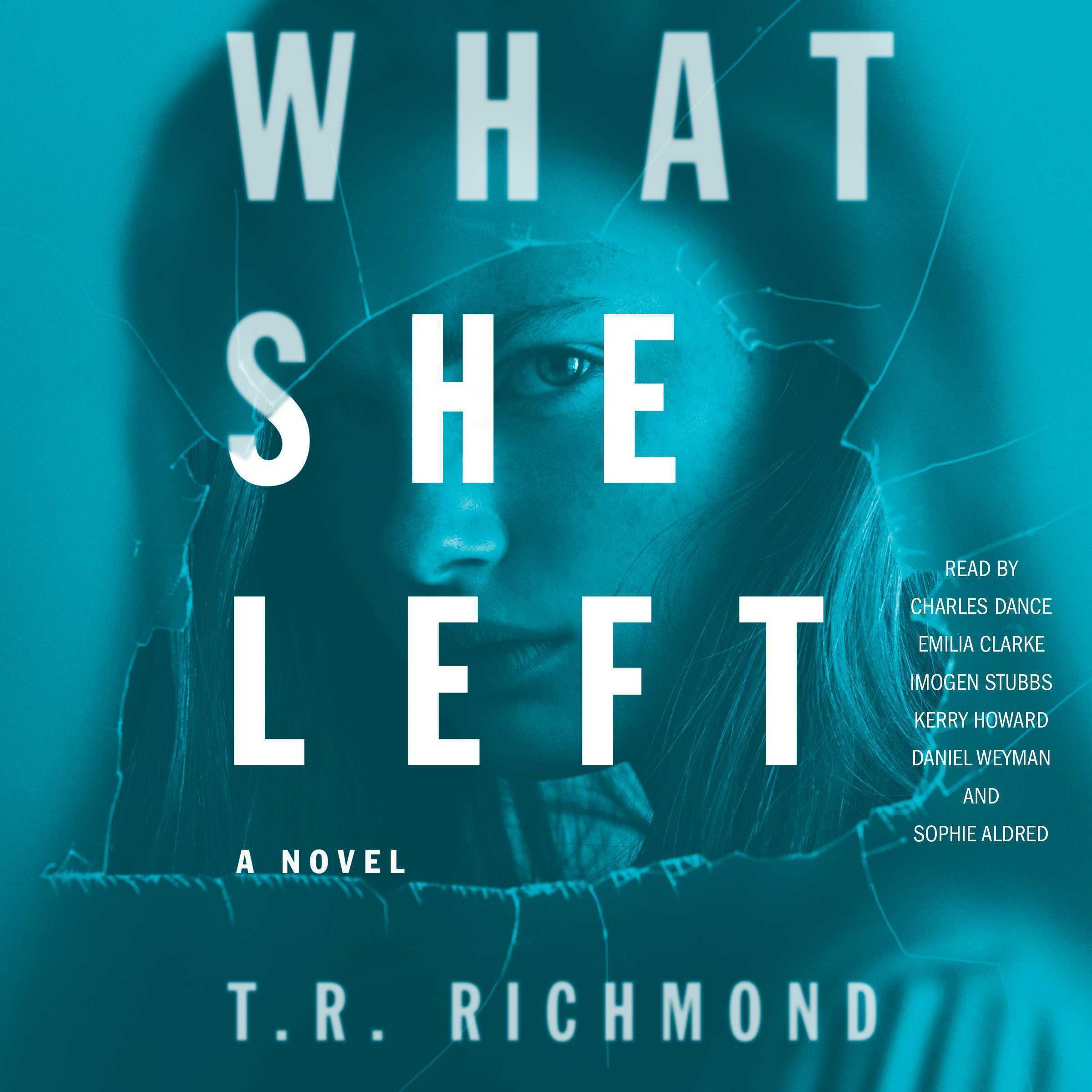 Printable What She Left: A Novel Audiobook Cover Art