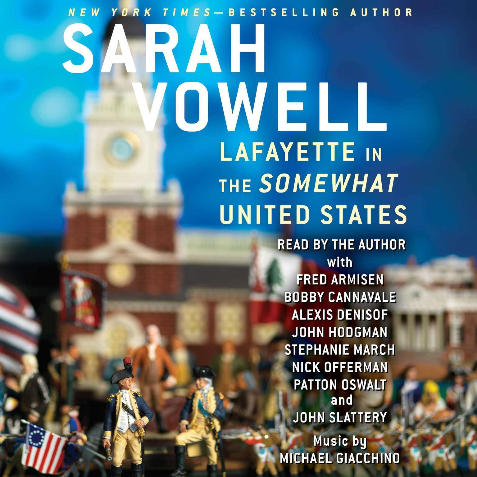 Printable Lafayette in the Somewhat United States Audiobook Cover Art
