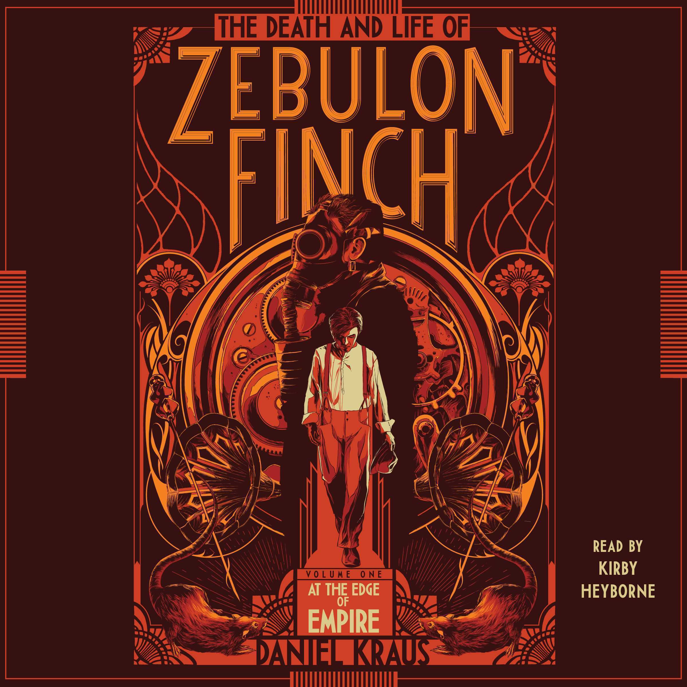 Printable The Death and Life of Zebulon Finch, Volume One: At the Edge of Empire Audiobook Cover Art