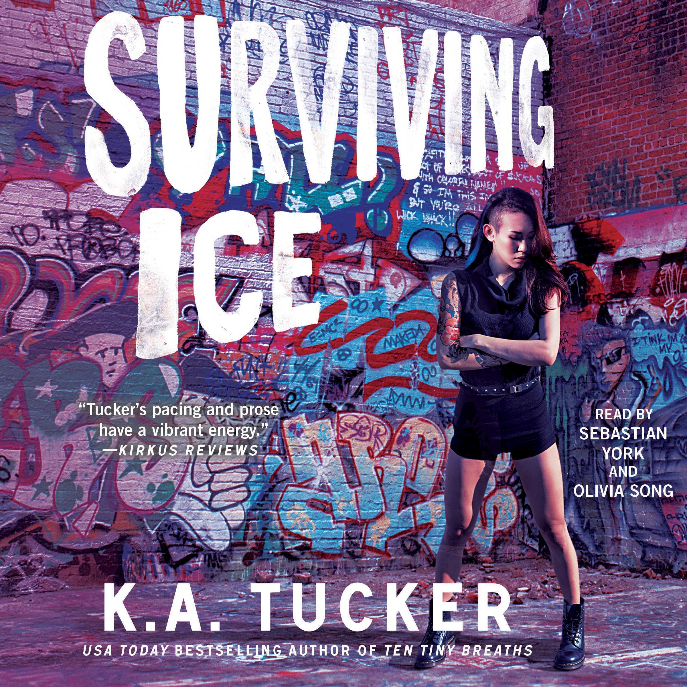 Printable Surviving Ice Audiobook Cover Art
