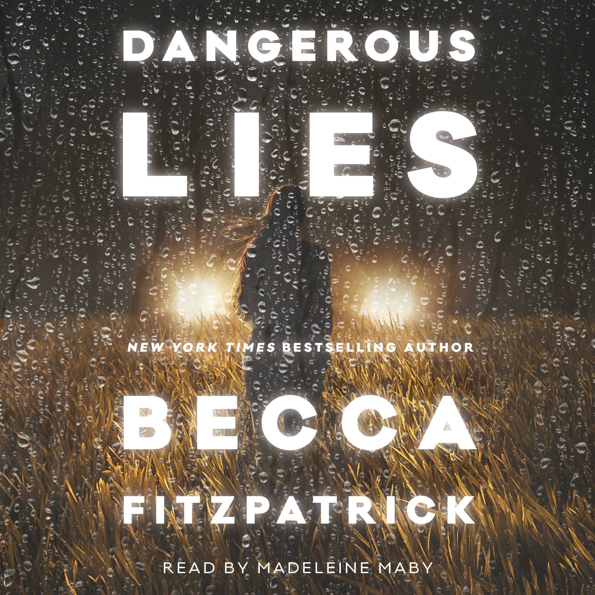 Printable Dangerous Lies Audiobook Cover Art