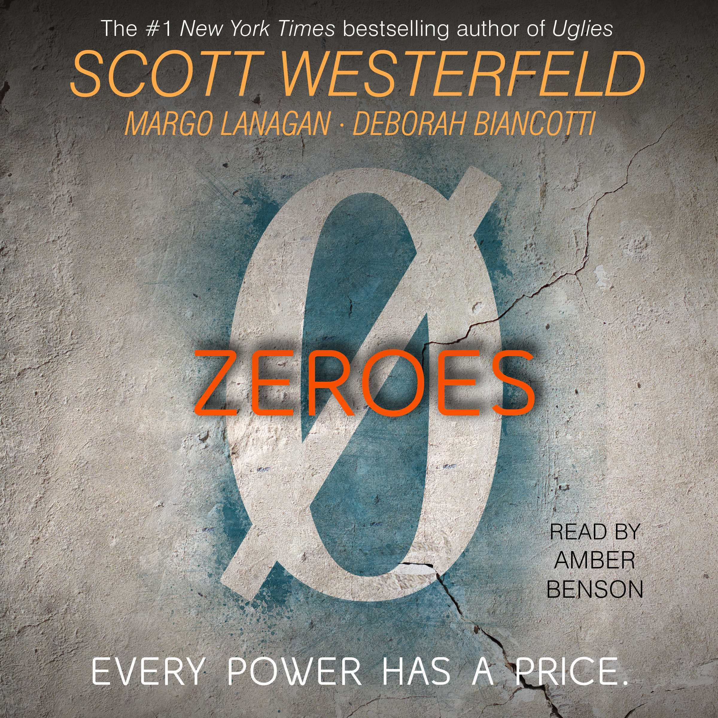 Printable Zeroes Audiobook Cover Art