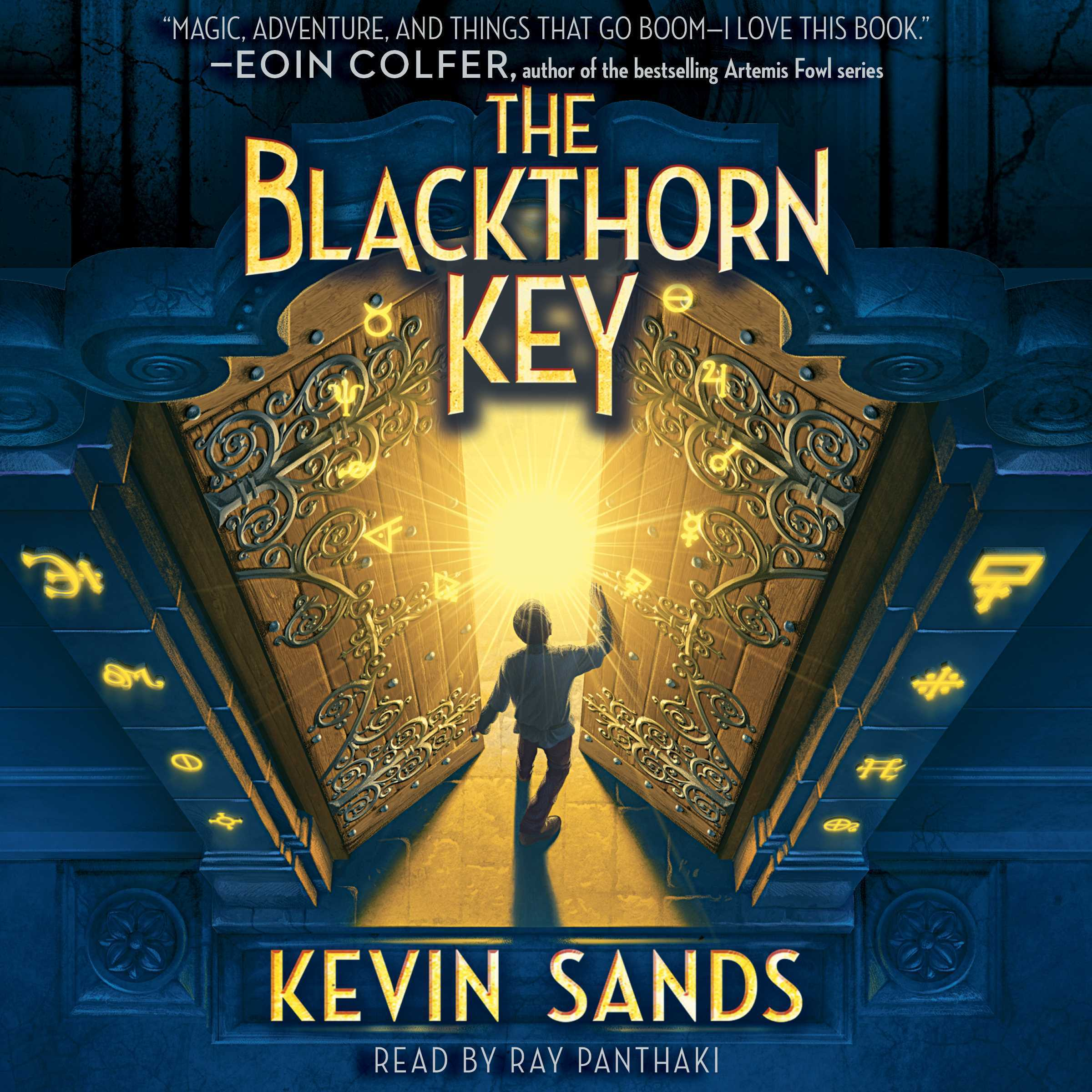 Printable Blackthorn Key Audiobook Cover Art
