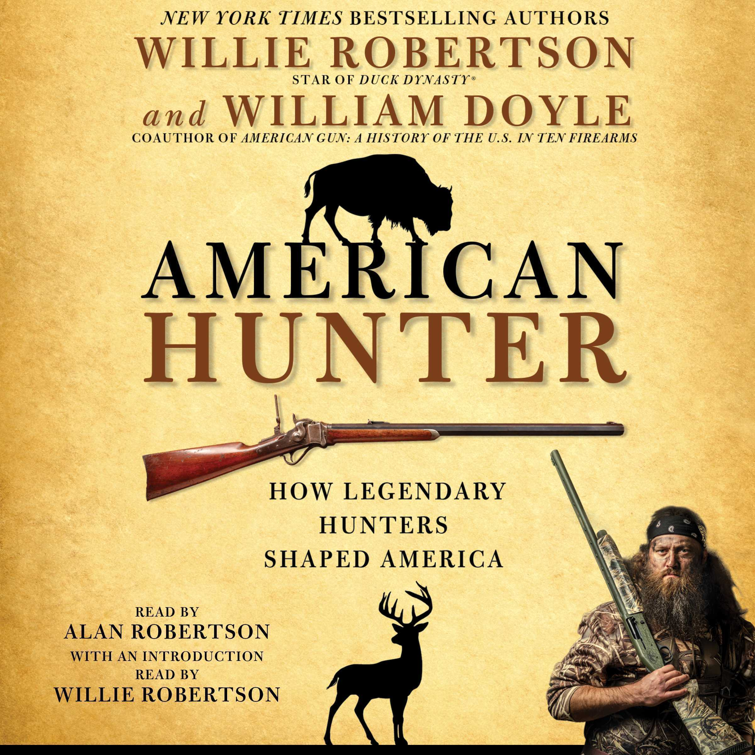 Printable American Hunter: How Legendary Hunters Shaped America's History Audiobook Cover Art
