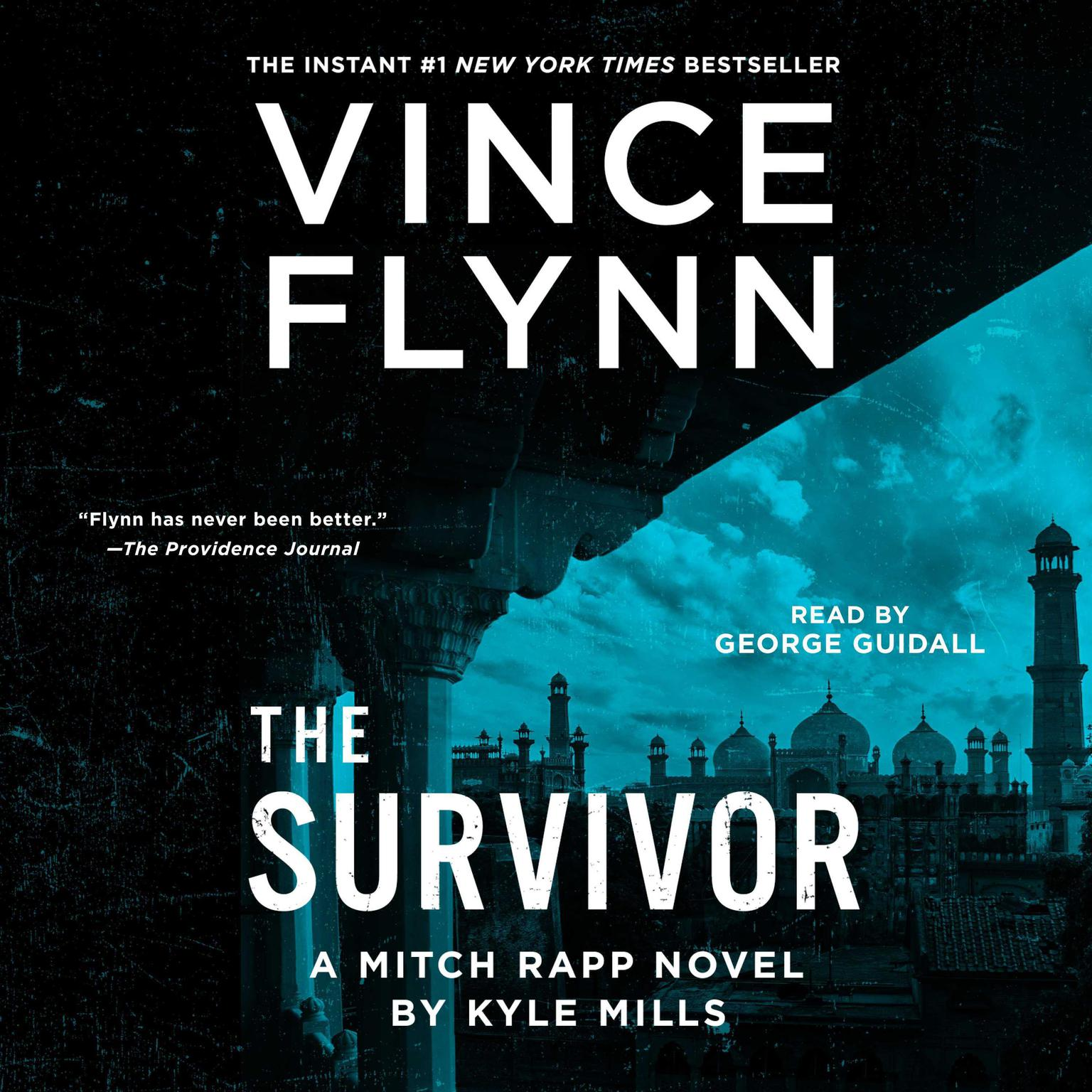 Printable The Survivor Audiobook Cover Art